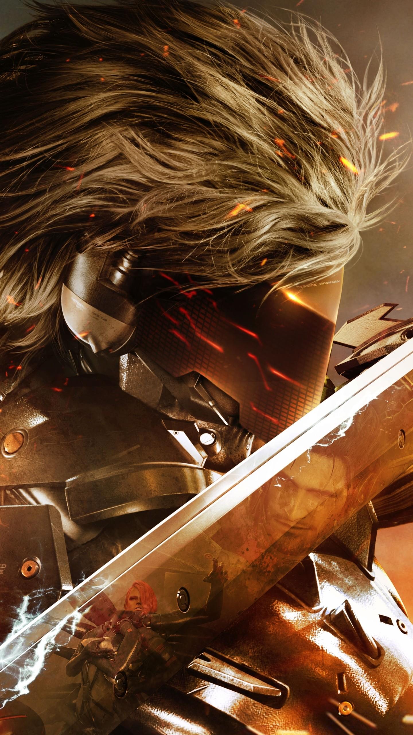 Video Game Metal Gear Rising: Revengeance Metal Gear Solid Mobile Wallpaper