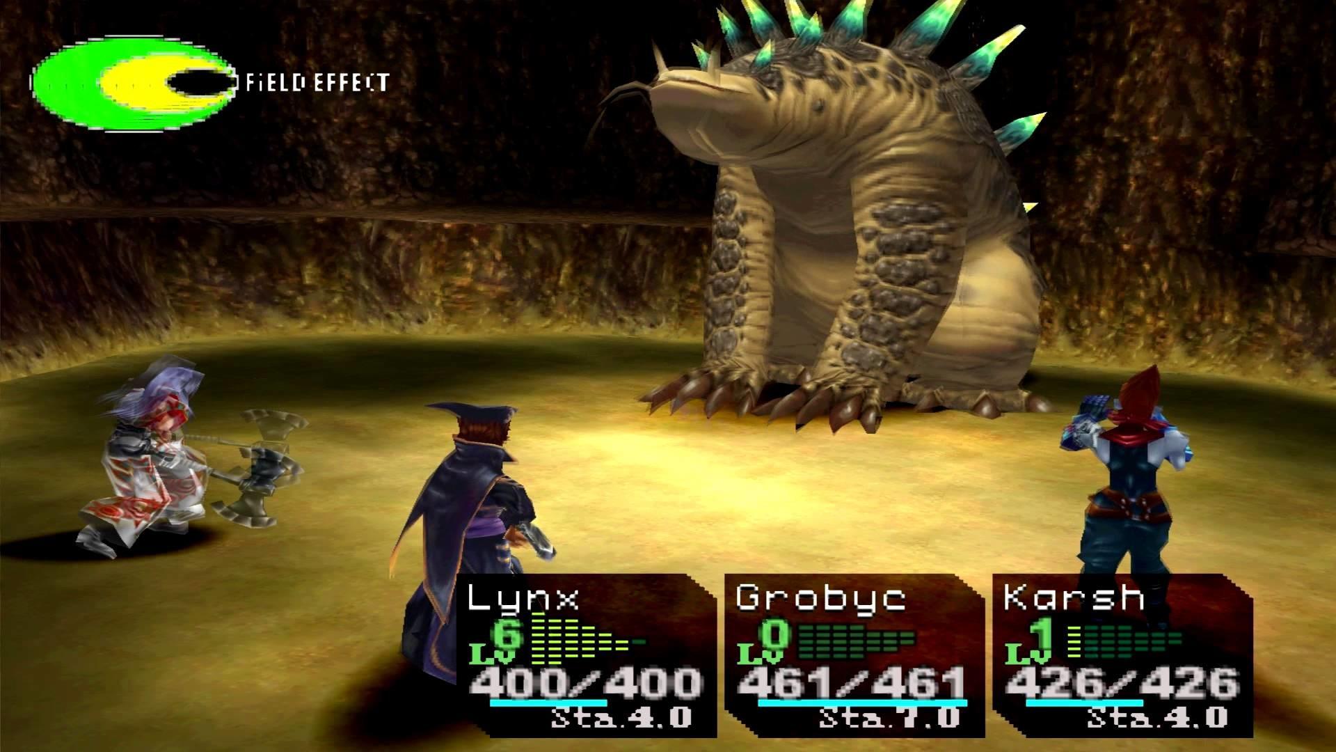 Chrono Cross Boss Earth Dragon
