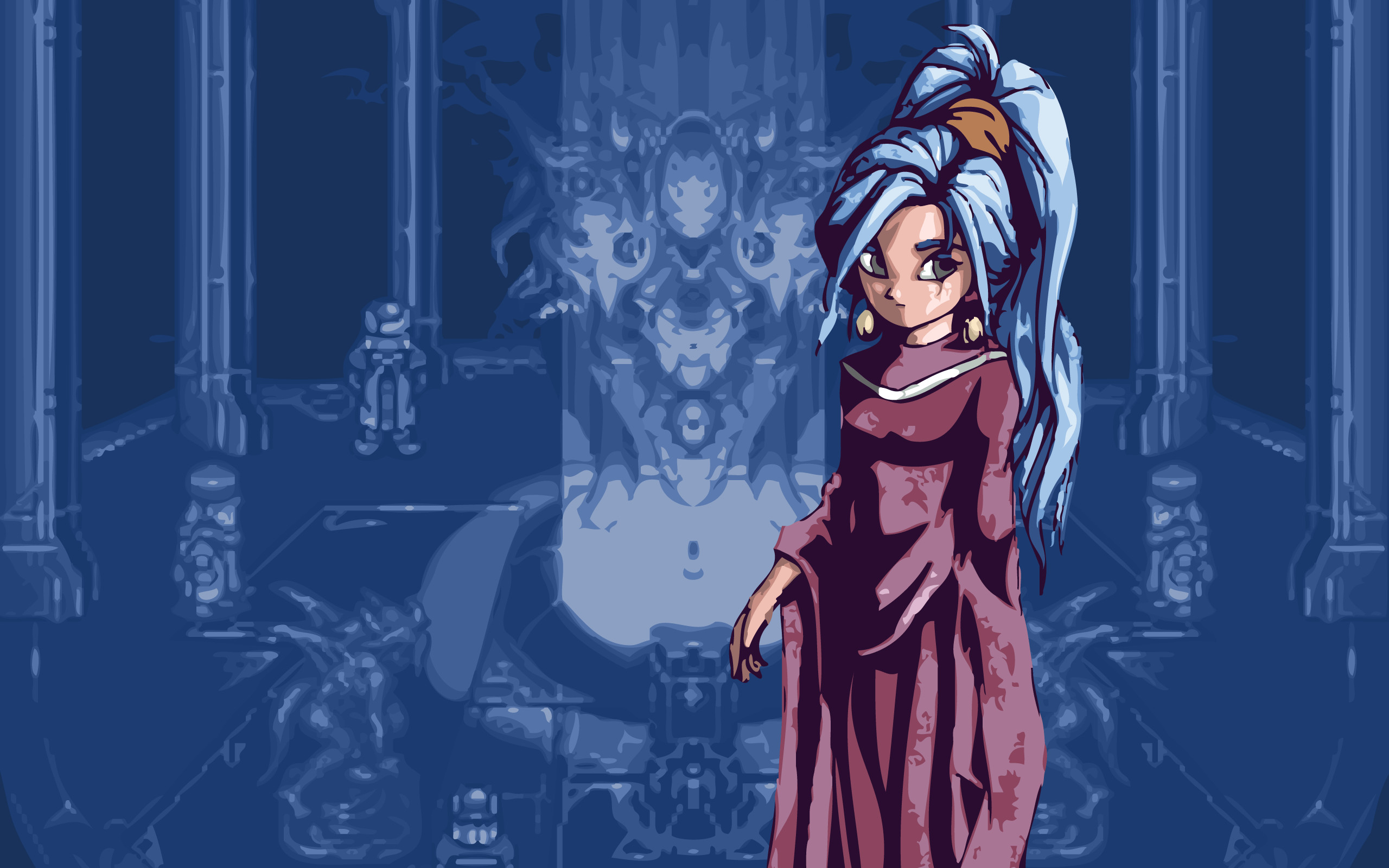 Adorable HDQ Backgrounds of Chrono Trigger, 2560×1600