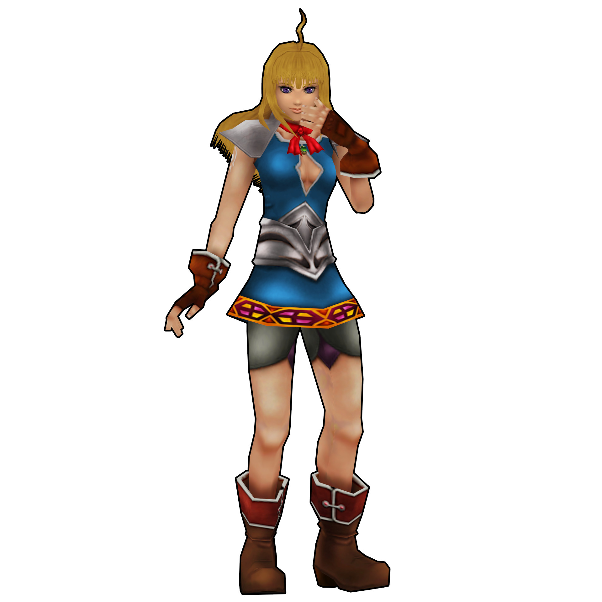 … Chrono Cross HD: Tia, the sister of the dimension. by 2PlayerWins