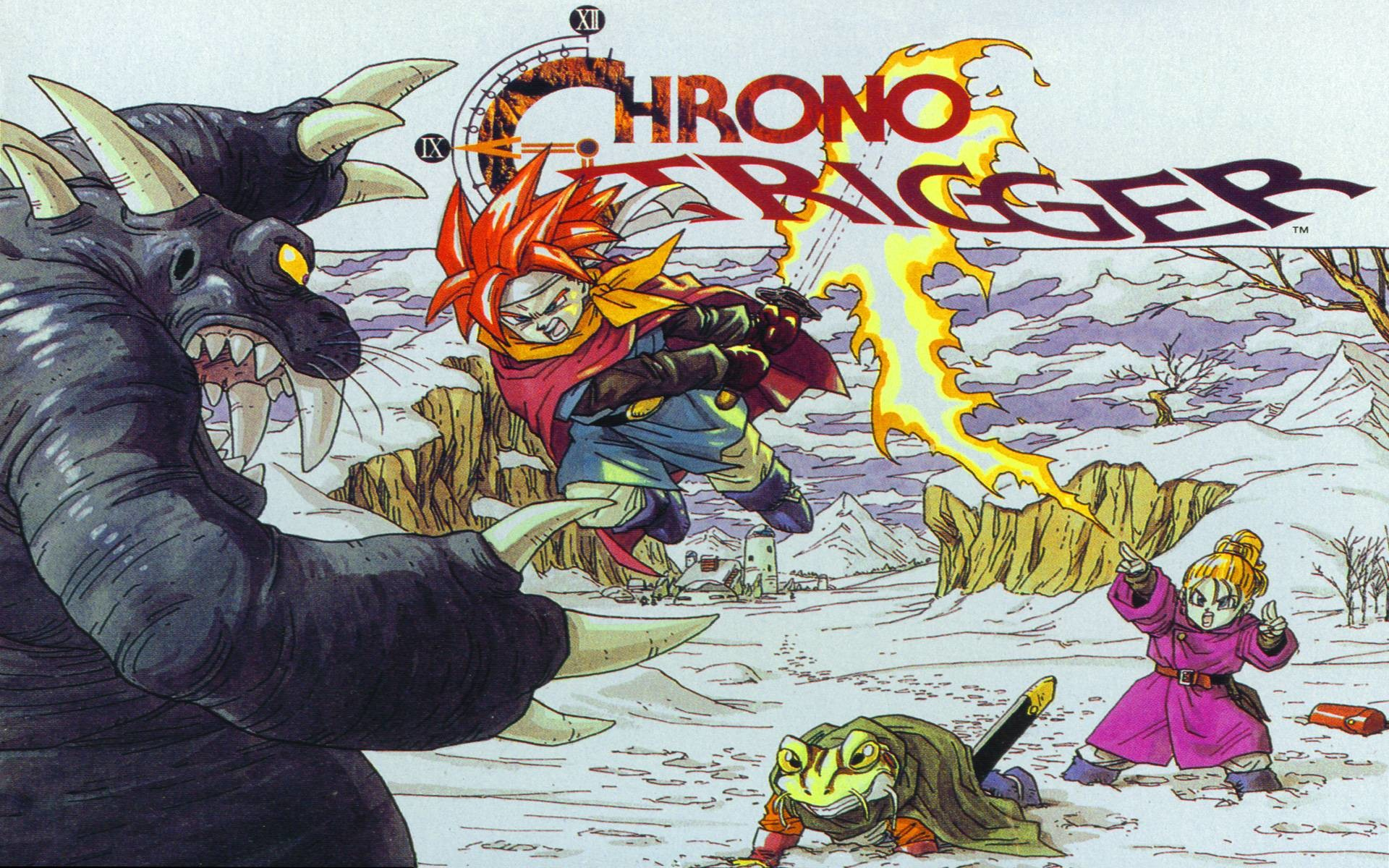 Chrono Trigger should be on Steam. Have a random wallpaper. : gaming