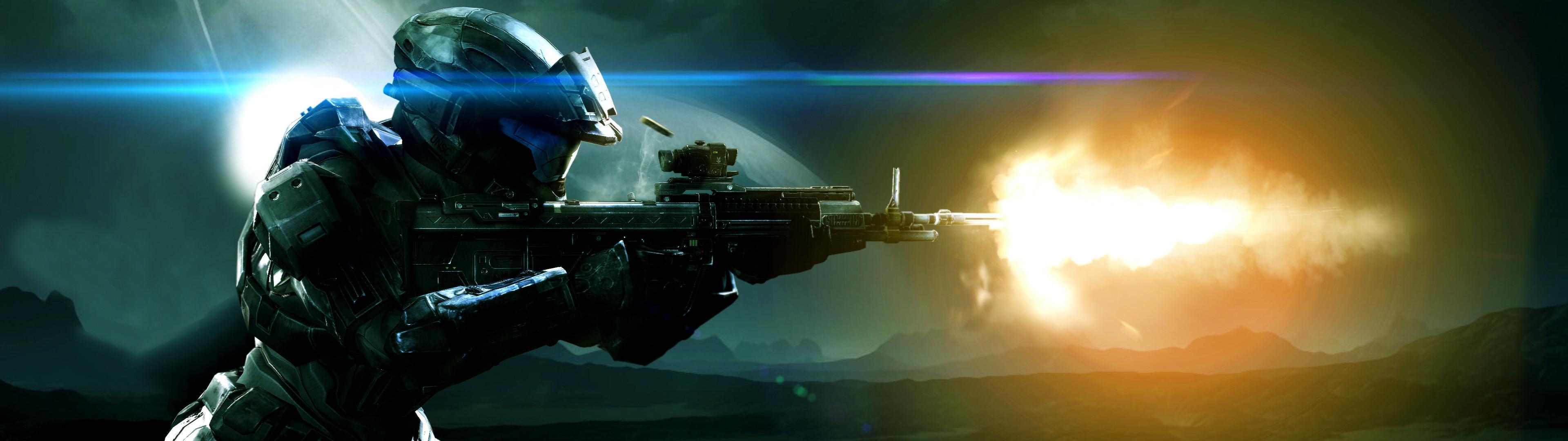 3840×1080] Halo – Spartan III