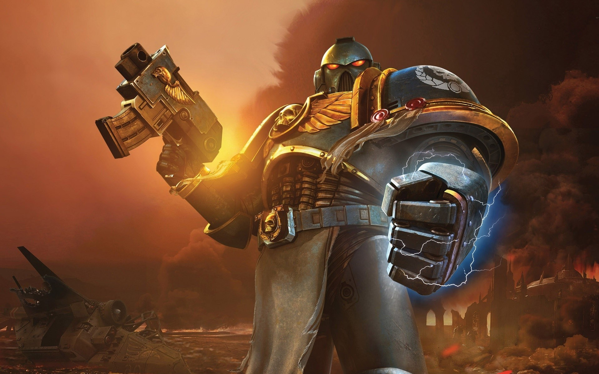 Warhammer 40000, Ultramarines, Space Marines Wallpapers HD / Desktop and  Mobile Backgrounds