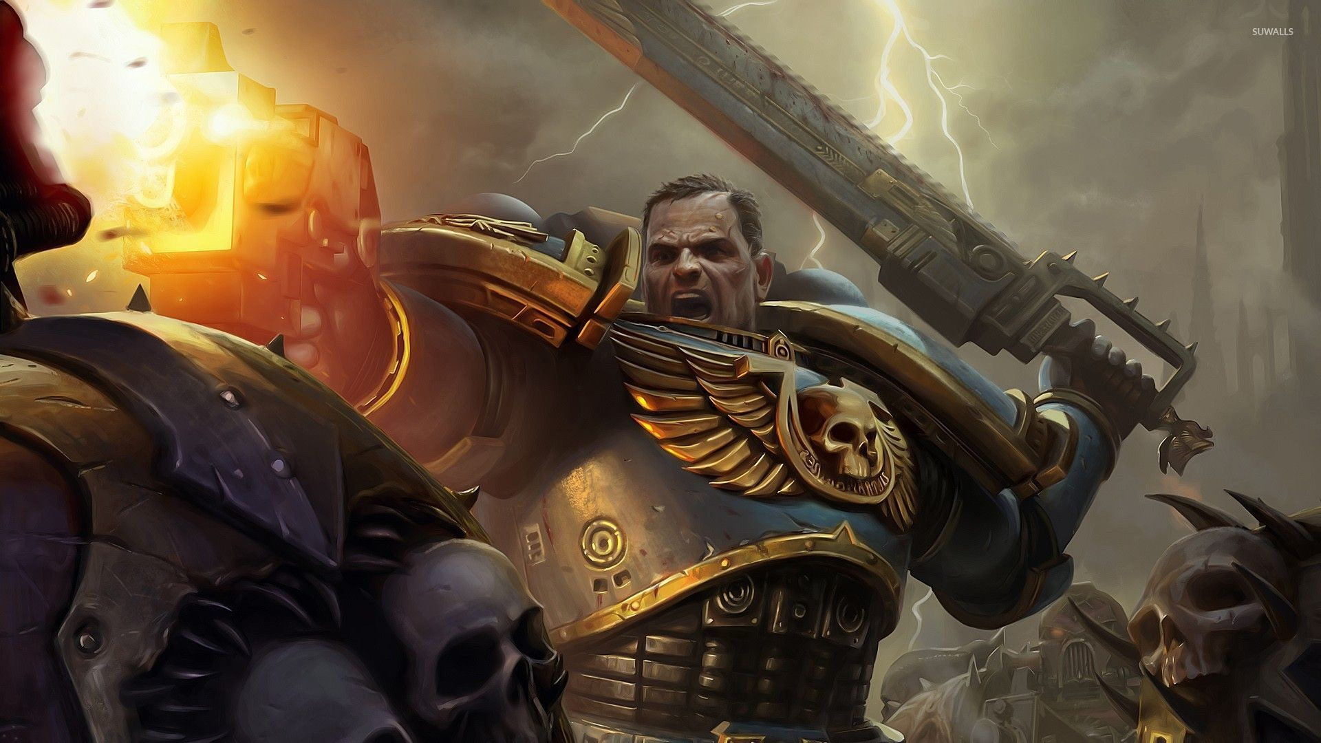 Warhammer 40,000 – Space Marines [5] wallpaper