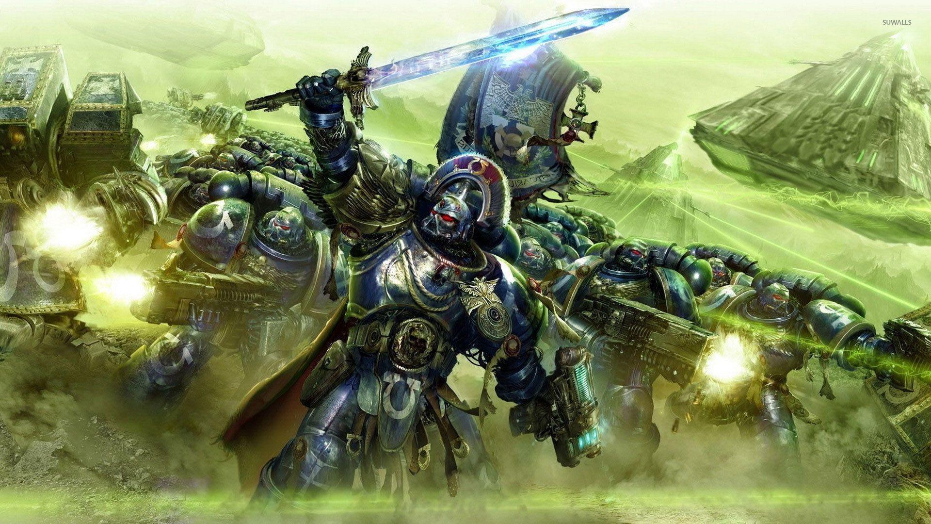 Ultramarines – Warhammer 40,000 wallpaper jpg