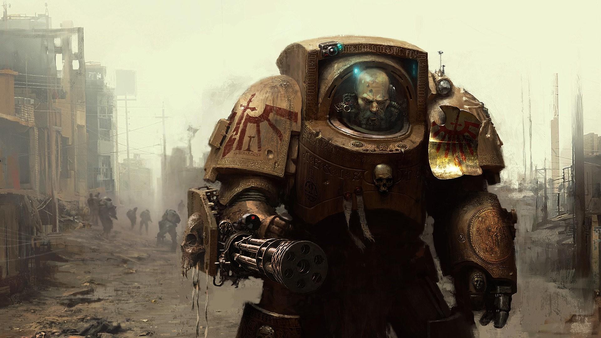 Wallpaper warhammer 40k, space marine, armor