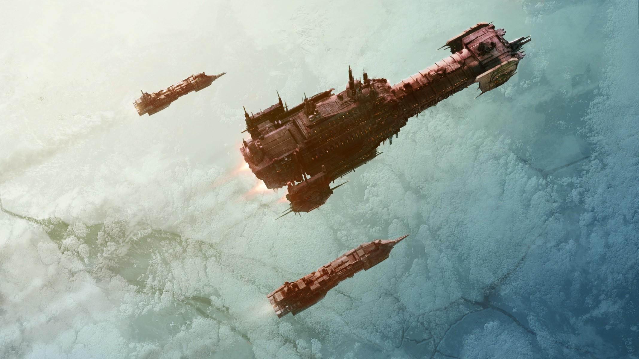 wallpaper space marines