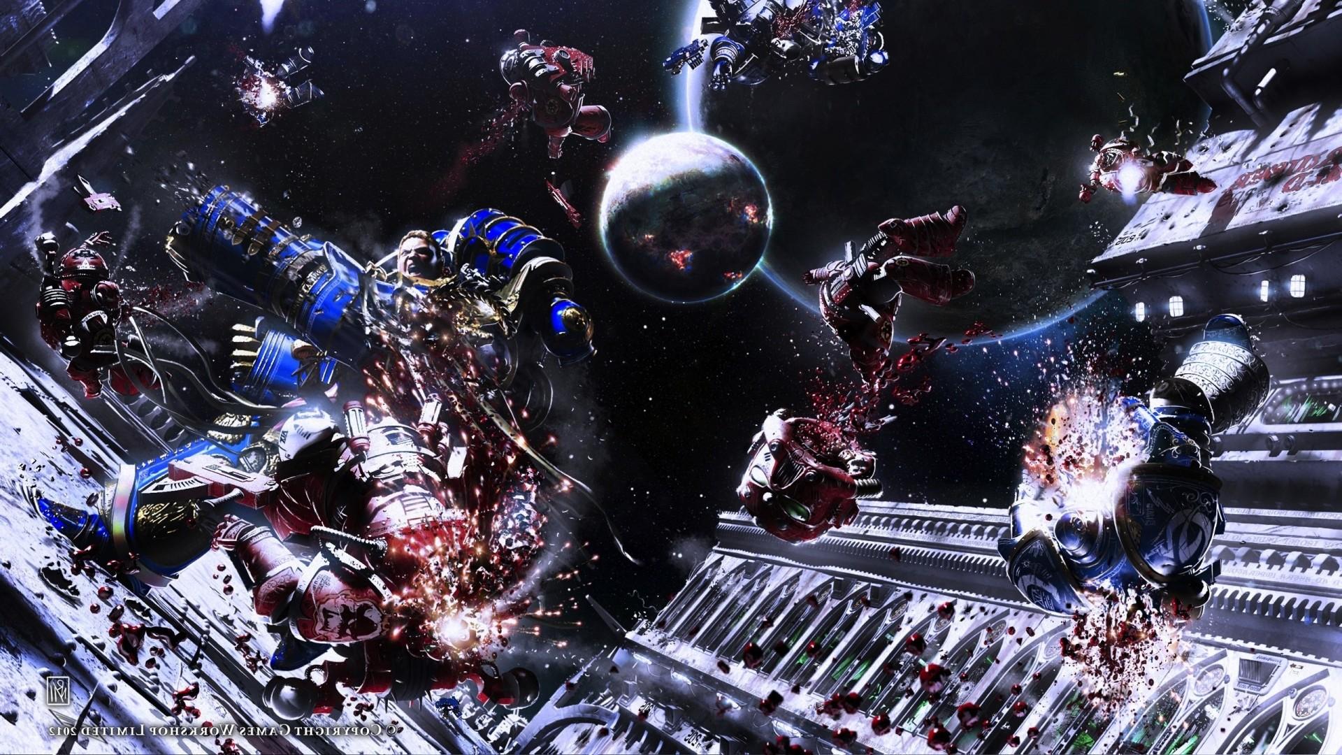 #Warhammer40 #000 #SpaceMarines #HorusHeresy #Warhammer #Wallpaper