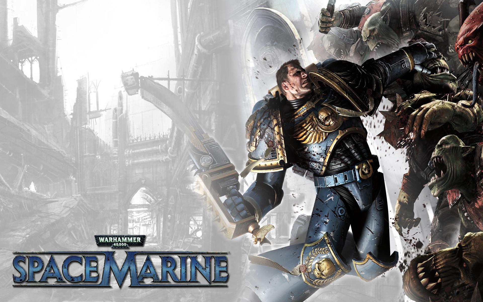 Video game Space marine