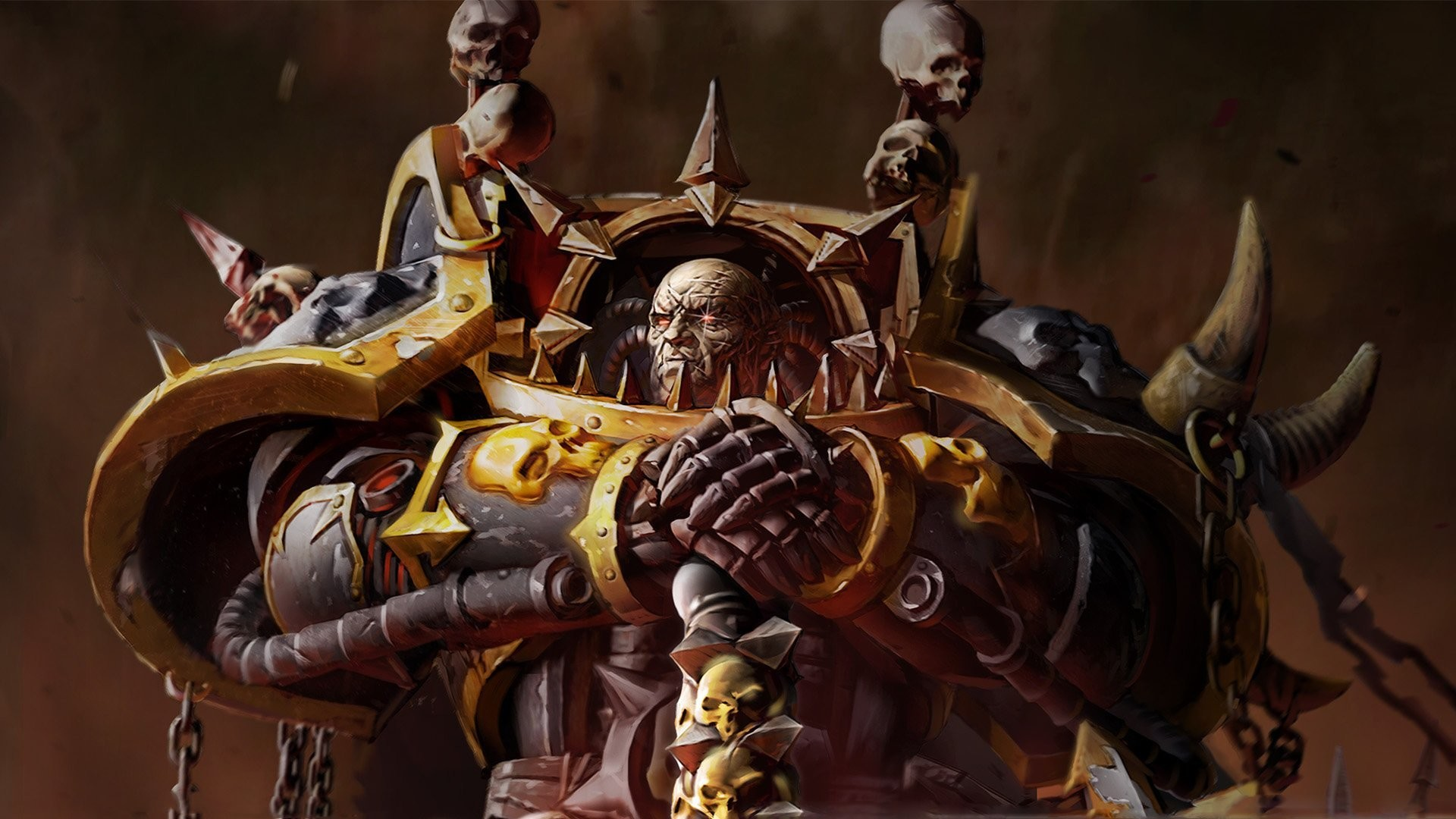 Warhammer Dawn Of War 2 Chaos Space Marines Eye Spark Armor