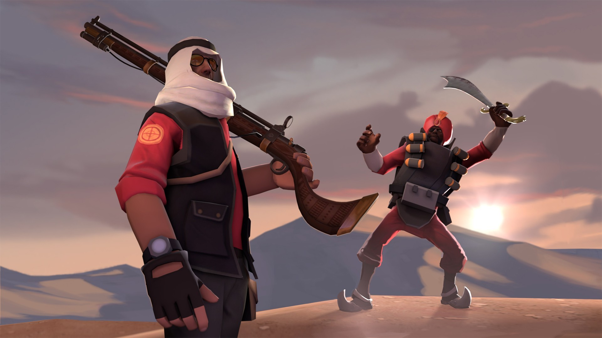video Games, Team Fortress 2, Sniper (TF2), Demoman