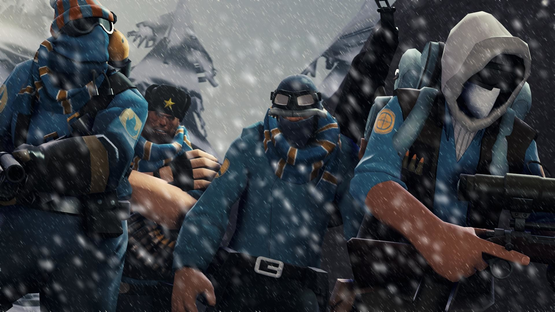 99 MORE TF2 Wallpapers made in SFM