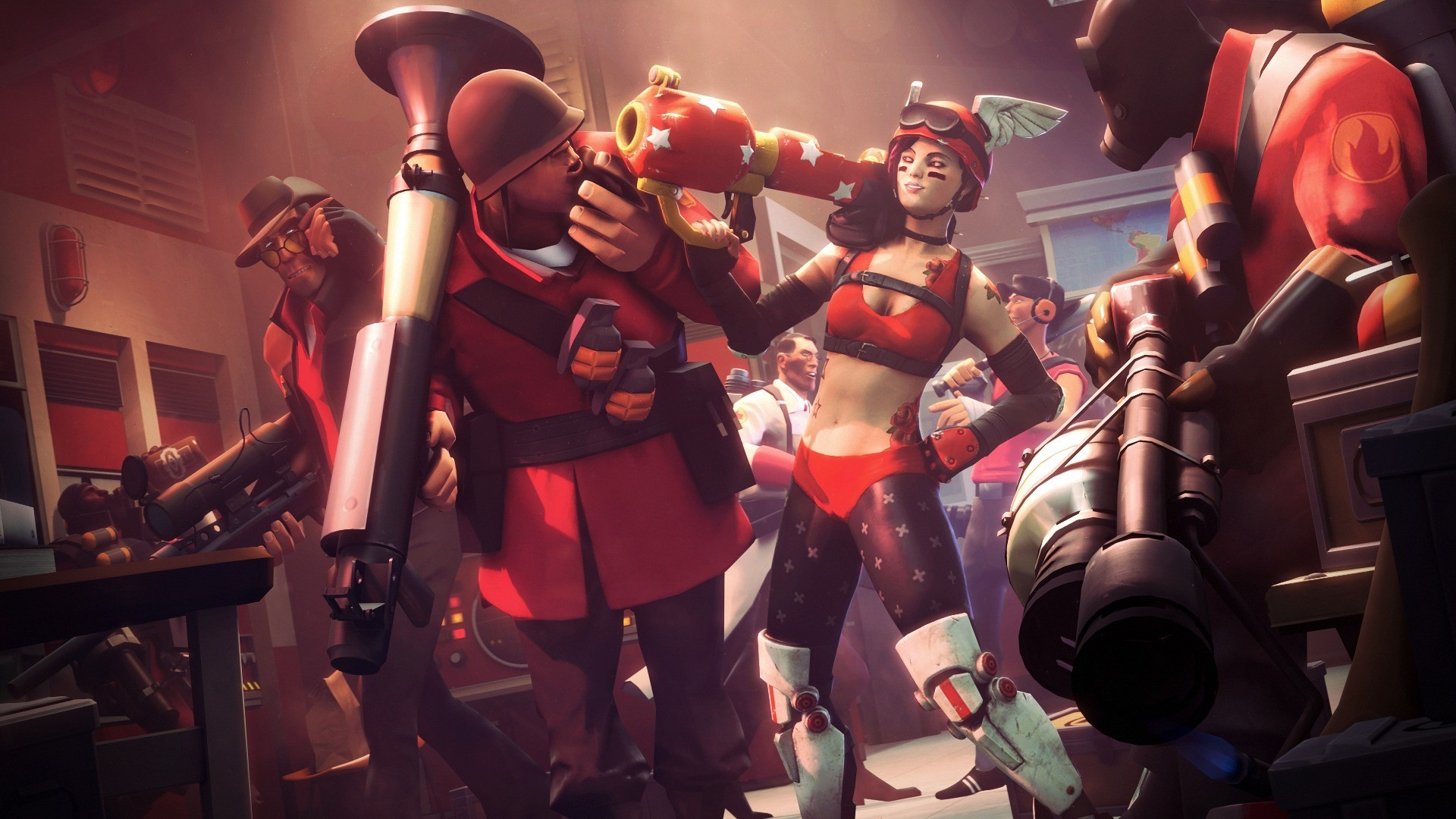 video Games Team Fortress Wallpapers HD Desktop and Mobile   HD Wallpapers    Pinterest   Team fortress and Wallpaper