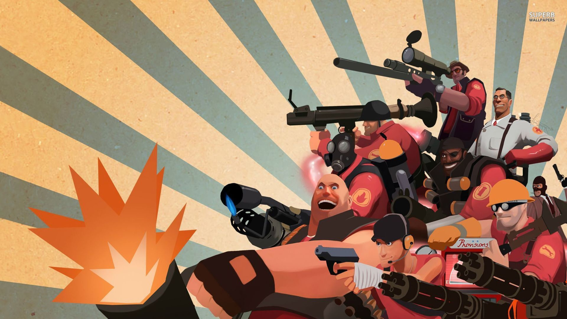 Team Fortress 2 Wallpapers High Quality