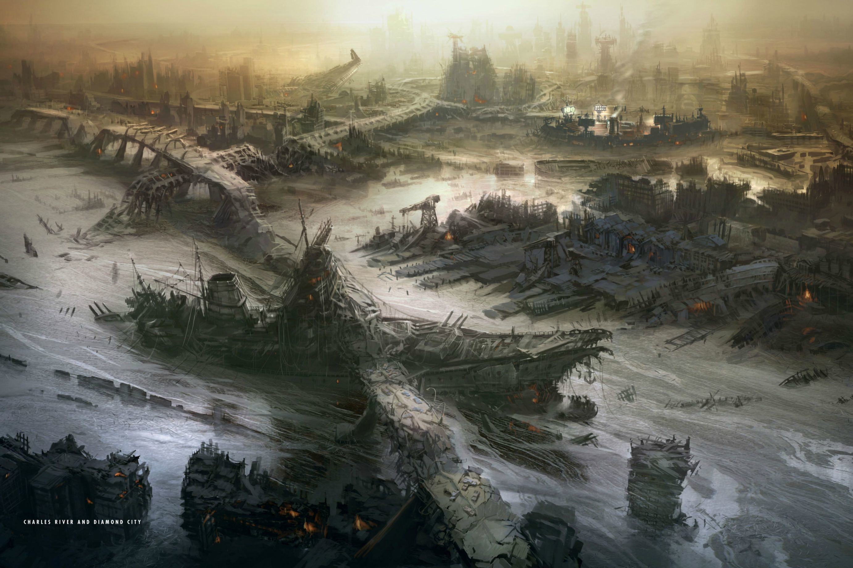 Fallout 4 wallpaper comp   Fallout 4   Pinterest   Fallout and Fallout art