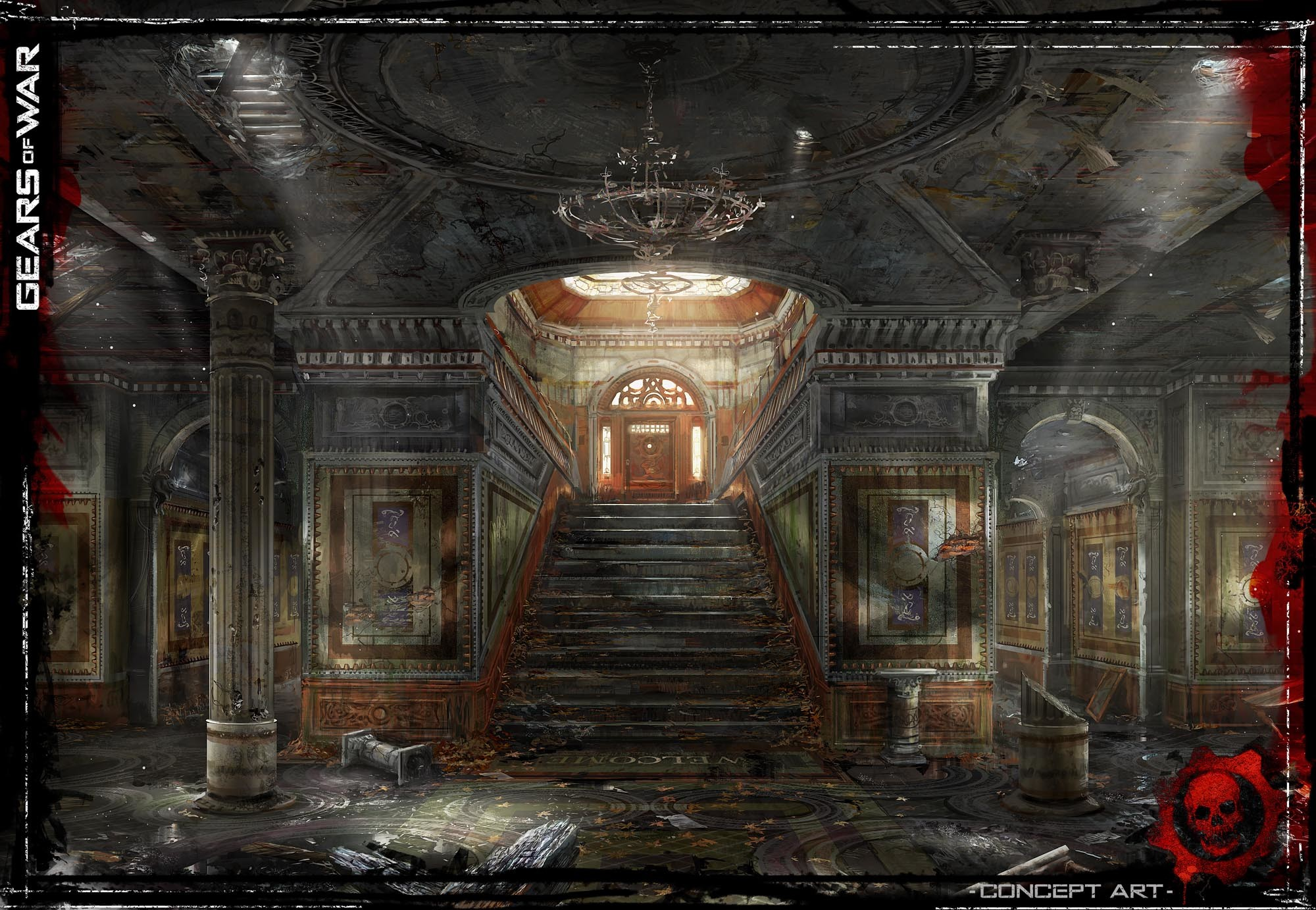https://simoncpage.co.uk/blog/wp-content/uploads/2008/09/gearsofwarconcept2.jpg    CG Environment, Buildings and Props   Pinterest   Concept art, Game  concept …