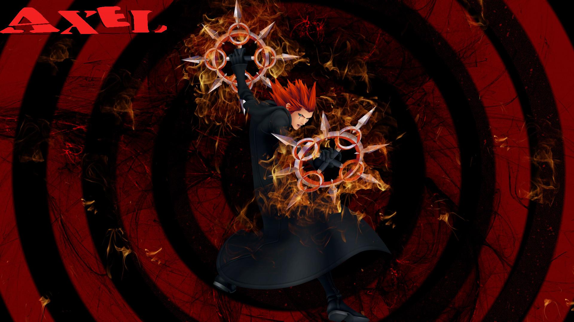 Axel Kingdom Hearts Wallpaper by static989 Axel Kingdom Hearts Wallpaper by  static989