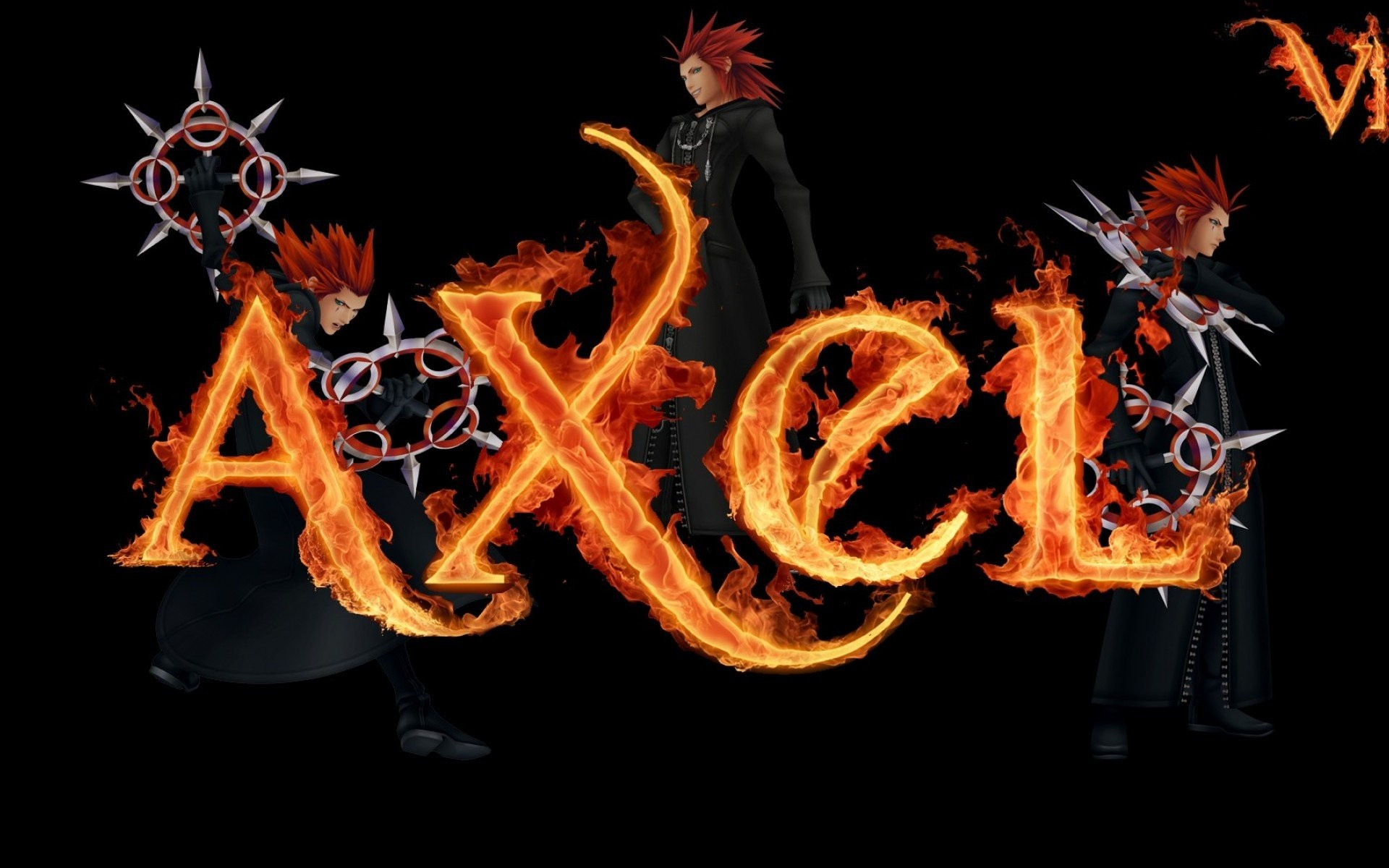 Kingdom Hearts Axel …