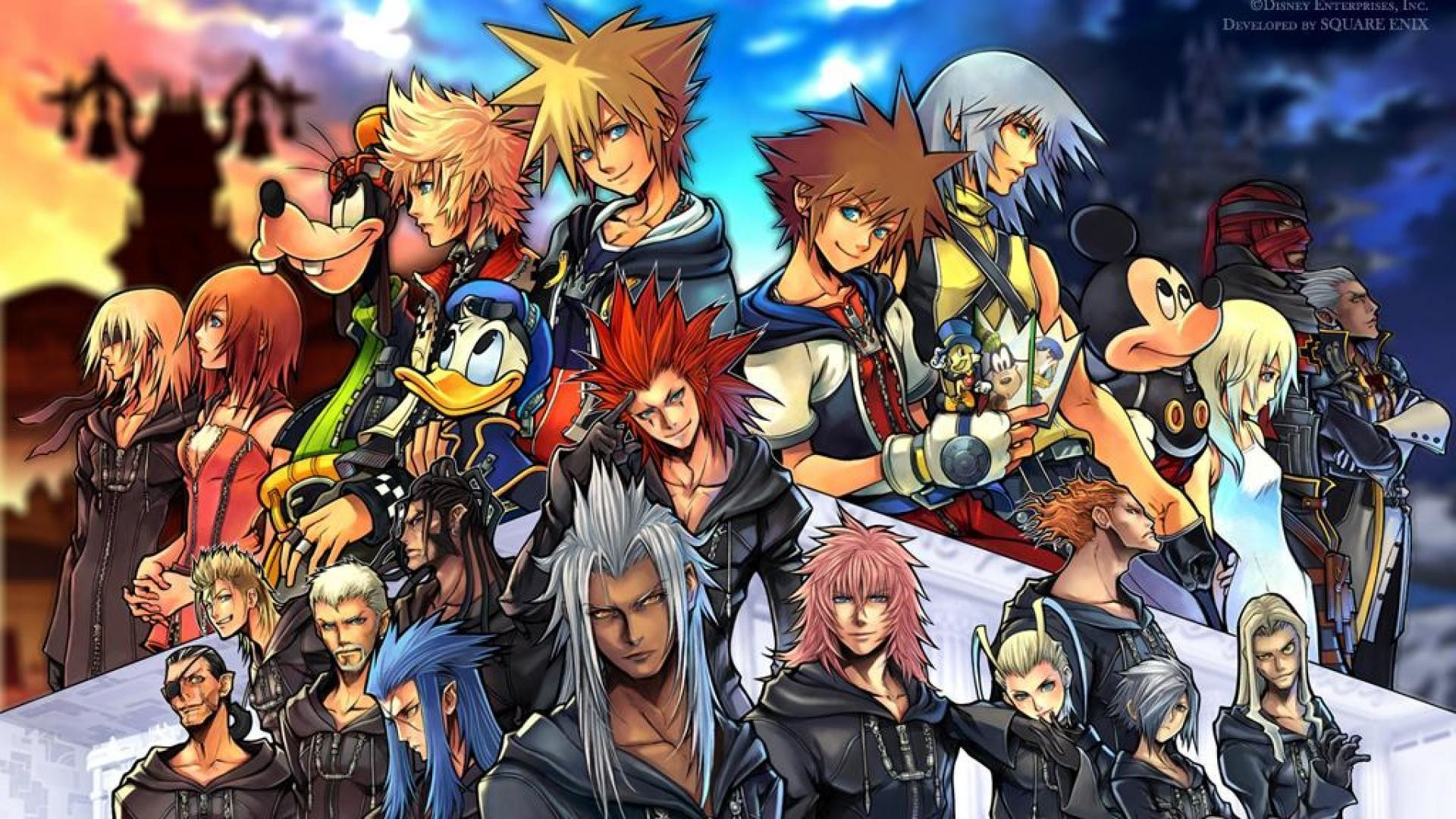 Wallpapers For > Kingdom Hearts Axel Wallpaper 1920×1080