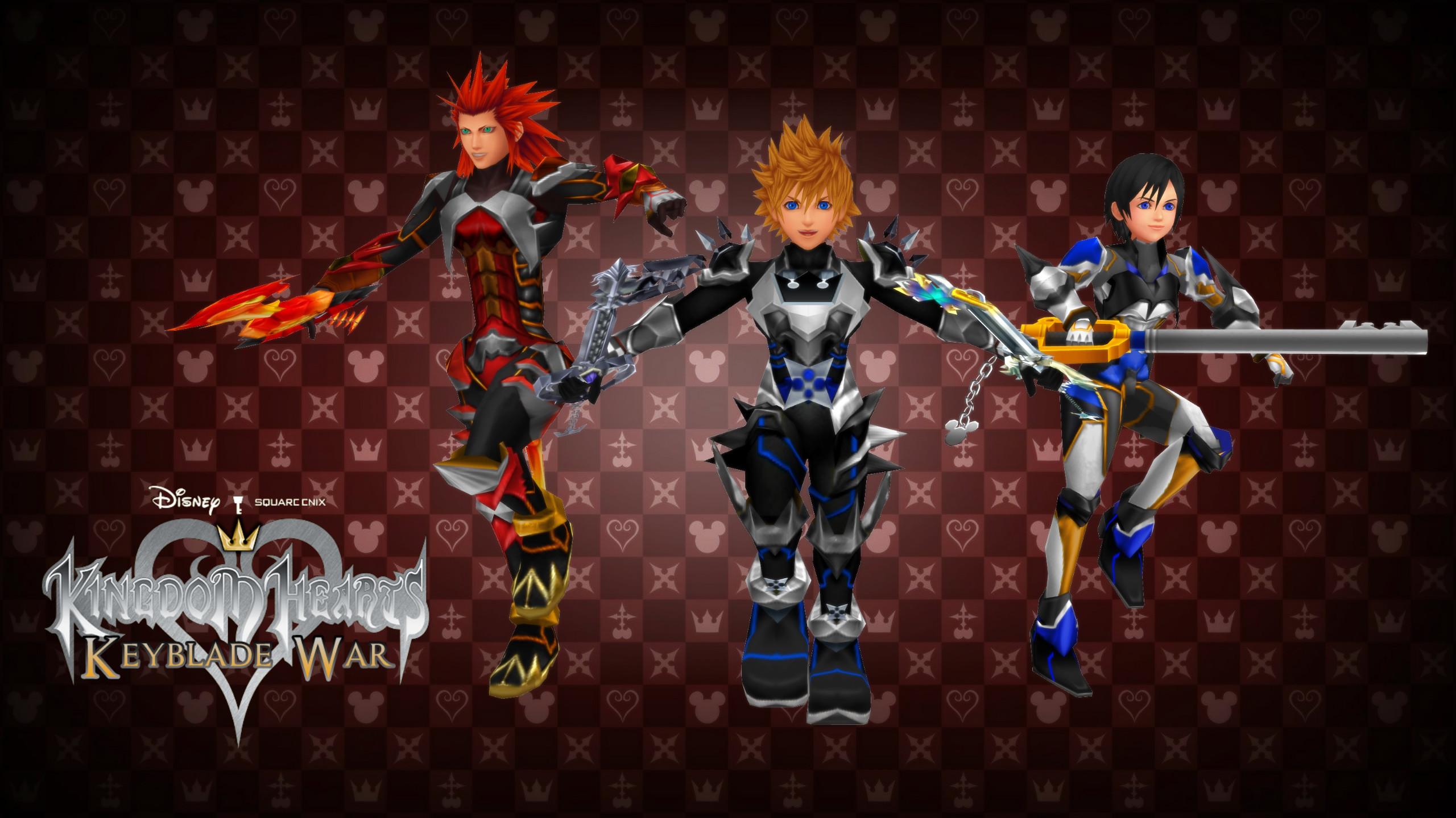 … Kingdom Hearts Keyblade War Custom Wallpaper 02 by todsen19