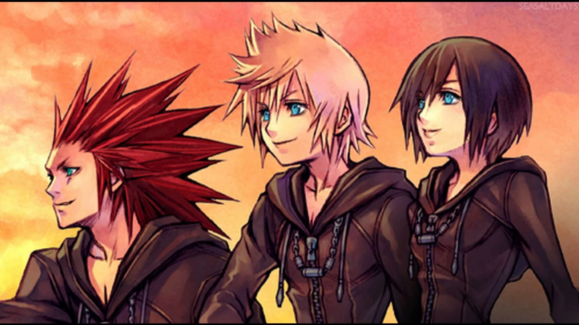 68 Axel Kingdom Hearts