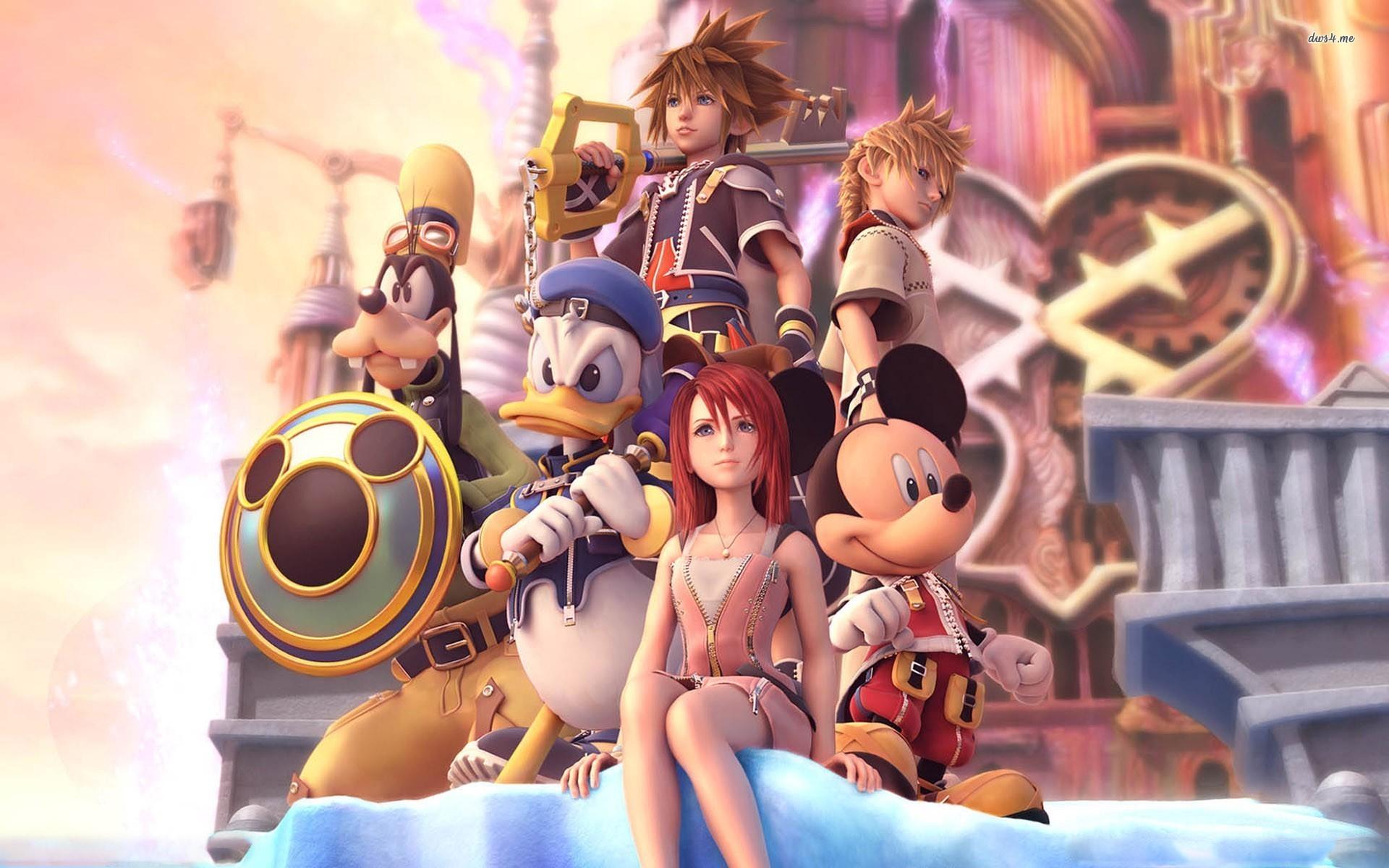 Kingdom Hearts wallpaper – Game wallpapers – #8515