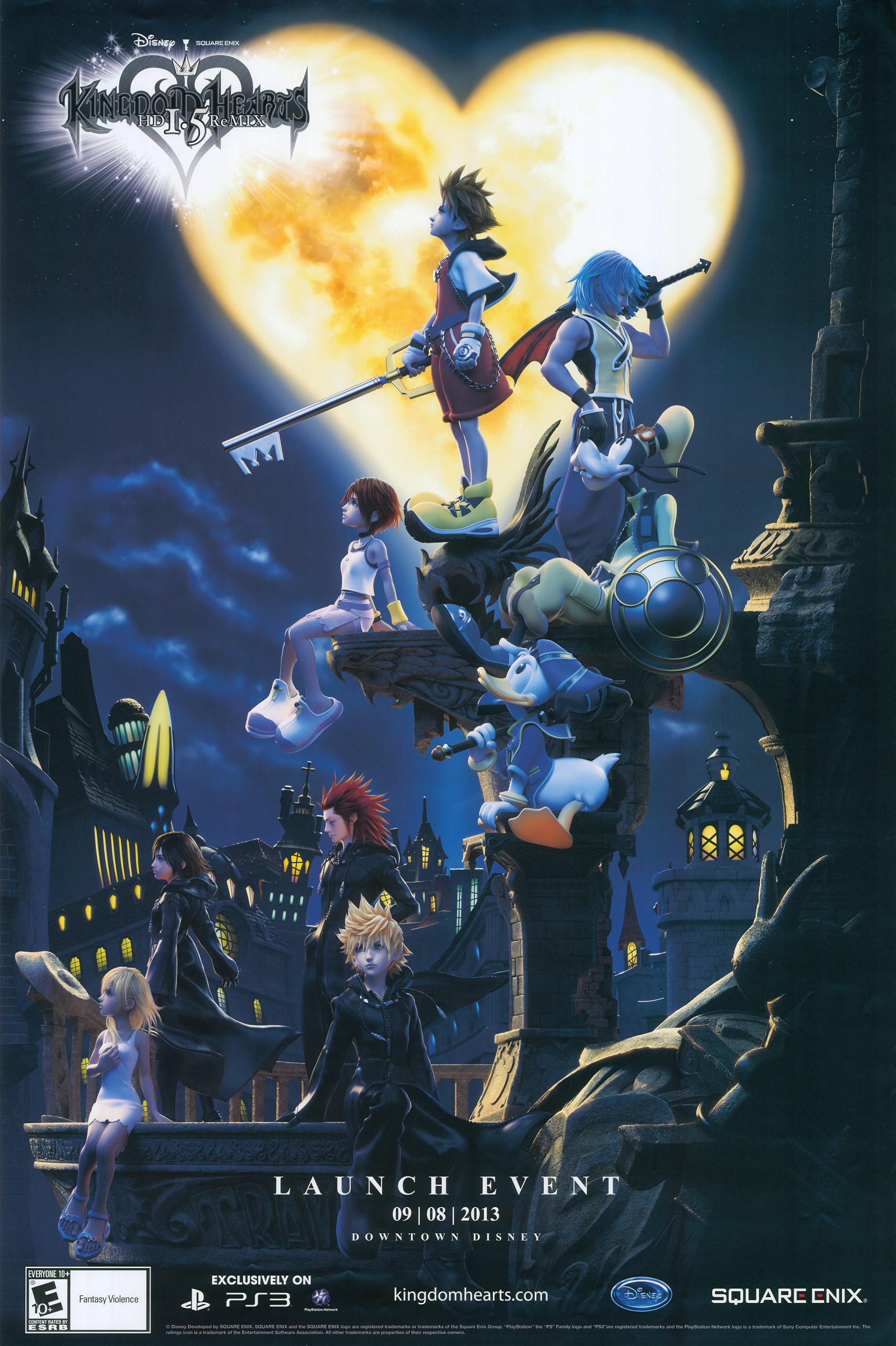 Kingdom Hearts—loved these games—release another already!