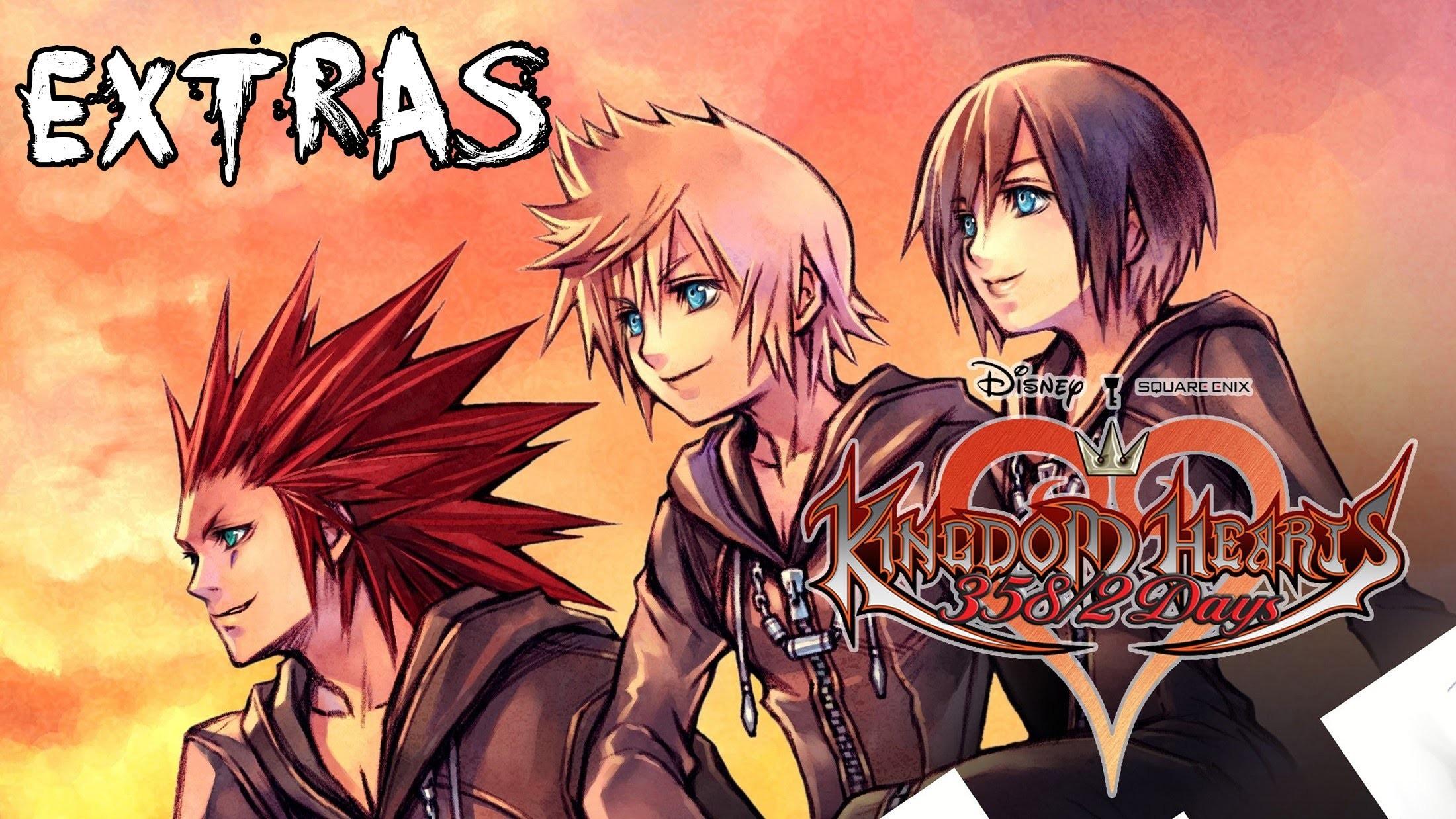 Kingdom Hearts 1.5 HD ReMiX ~ 358/2 days extras -Diario de Roxas completo-  [Espa̱ol] РYouTube