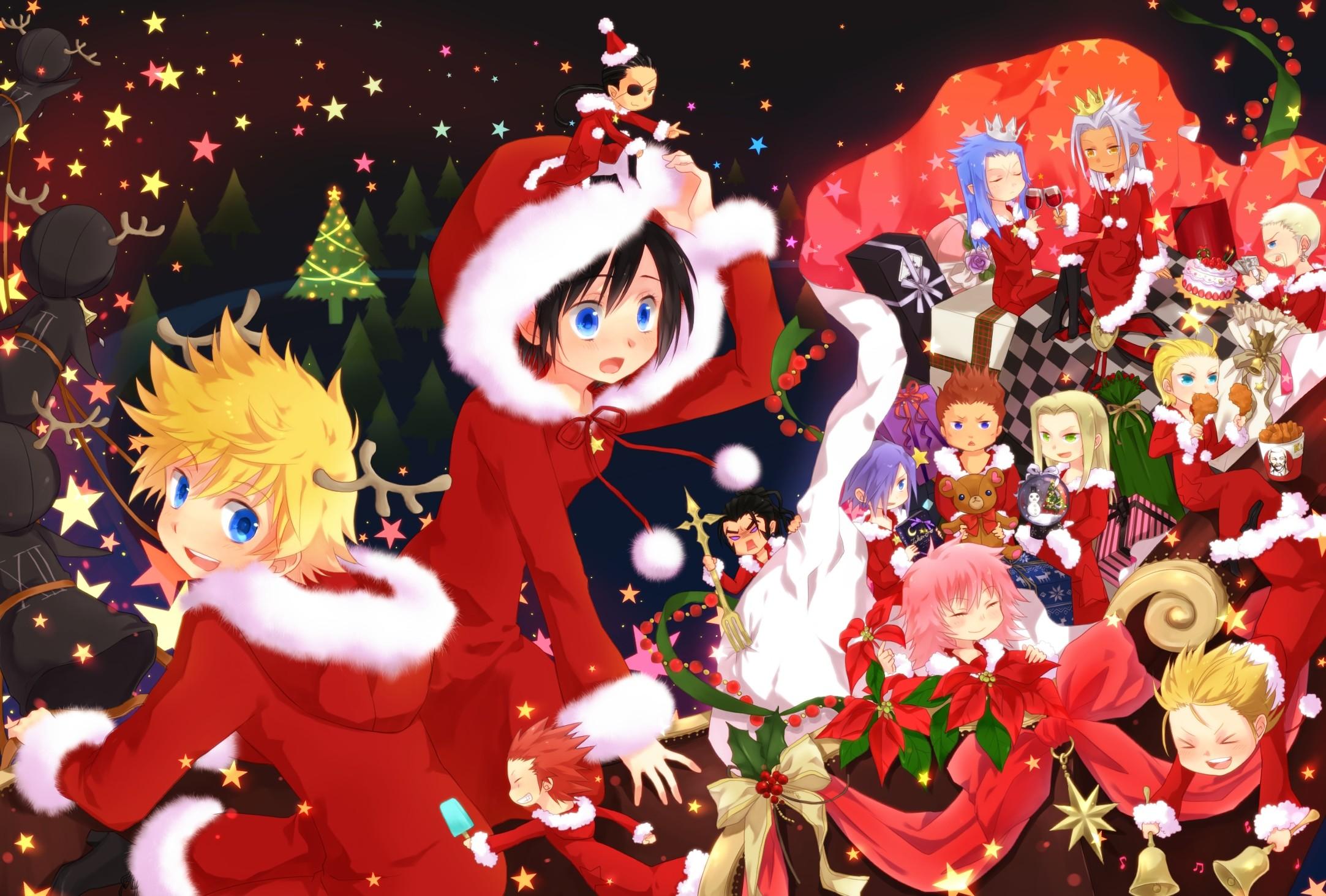 Tags: Anime, Okitsune, Kingdom Hearts II, Kingdom Hearts 358/2 Days