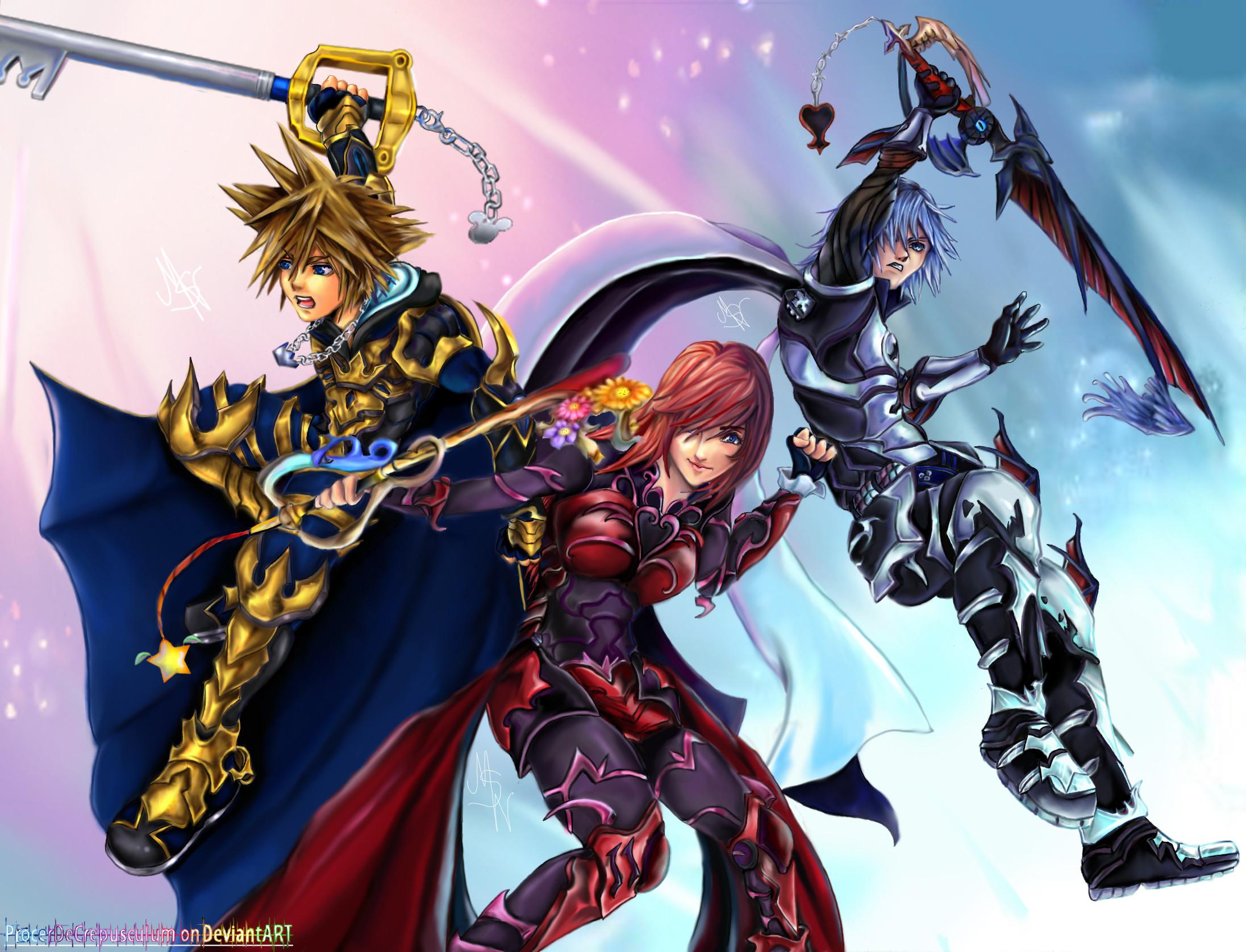 Keyblade Masters: The Next Generation by ProcerDeCrepusculum.deviantart.com  on @deviantART · Kingdom Hearts …