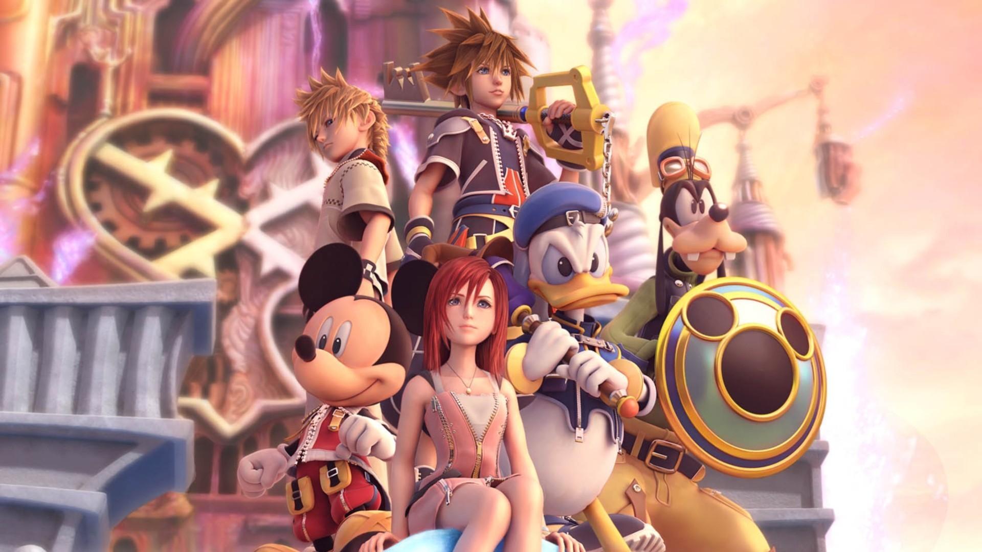 Kingdom Hearts wallpaper by TheKingdomHearts-FC on DeviantArt