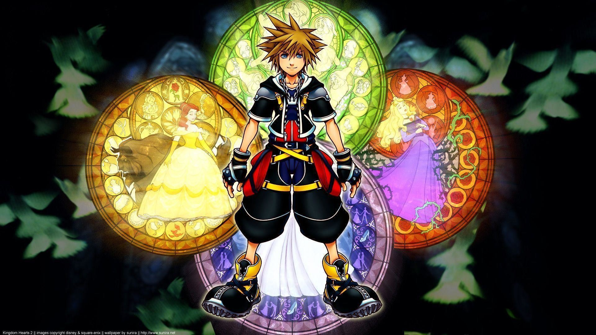 Kingdom Hearts Axel Wallpaper – WallDevil