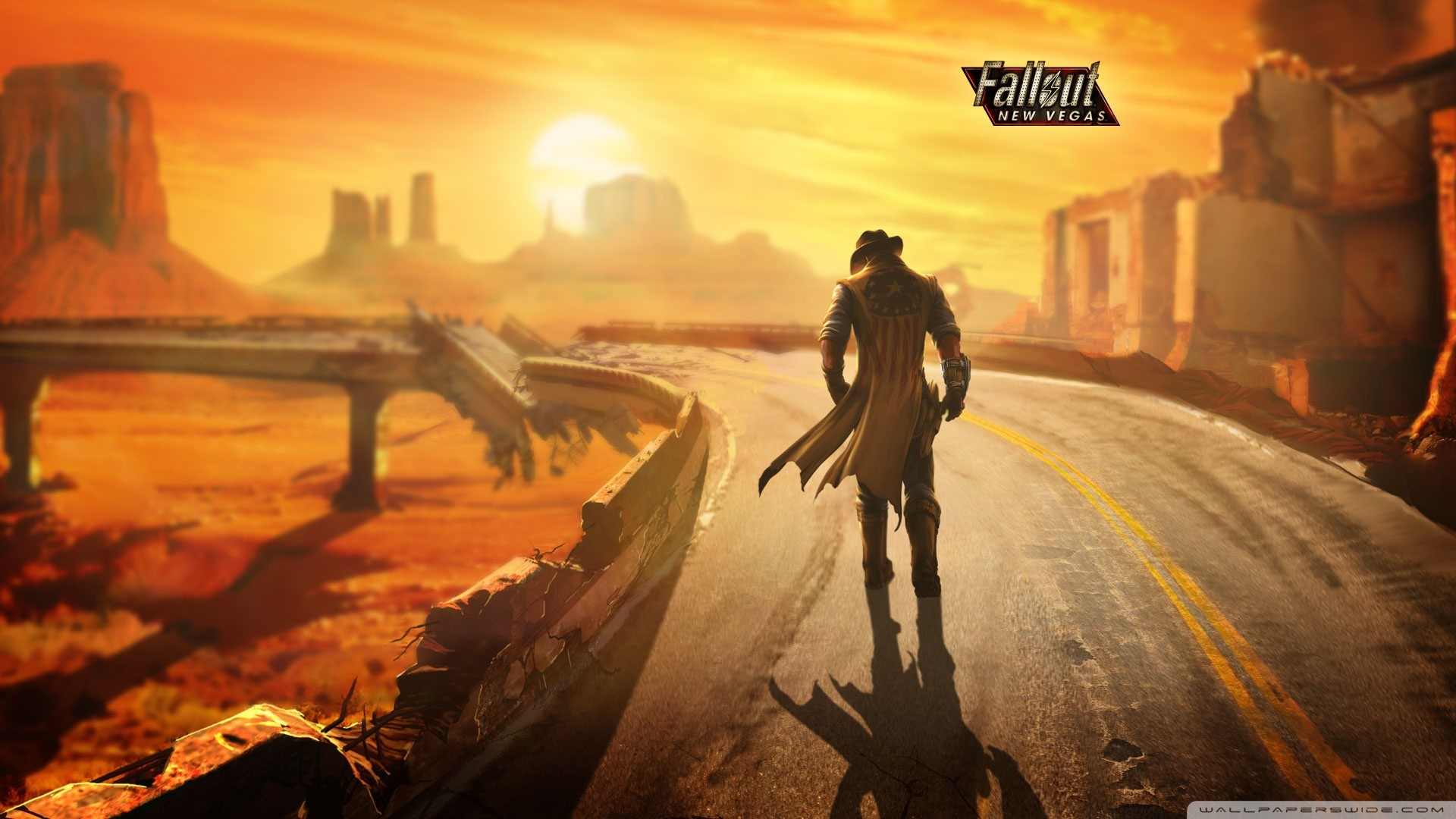 Fallout New Vegas Lonesome Road Wallpaper Fallout, New .