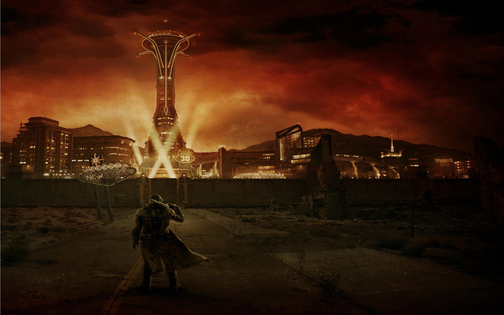 Fallout: New Wallpaper Fallout, New, Vegas
