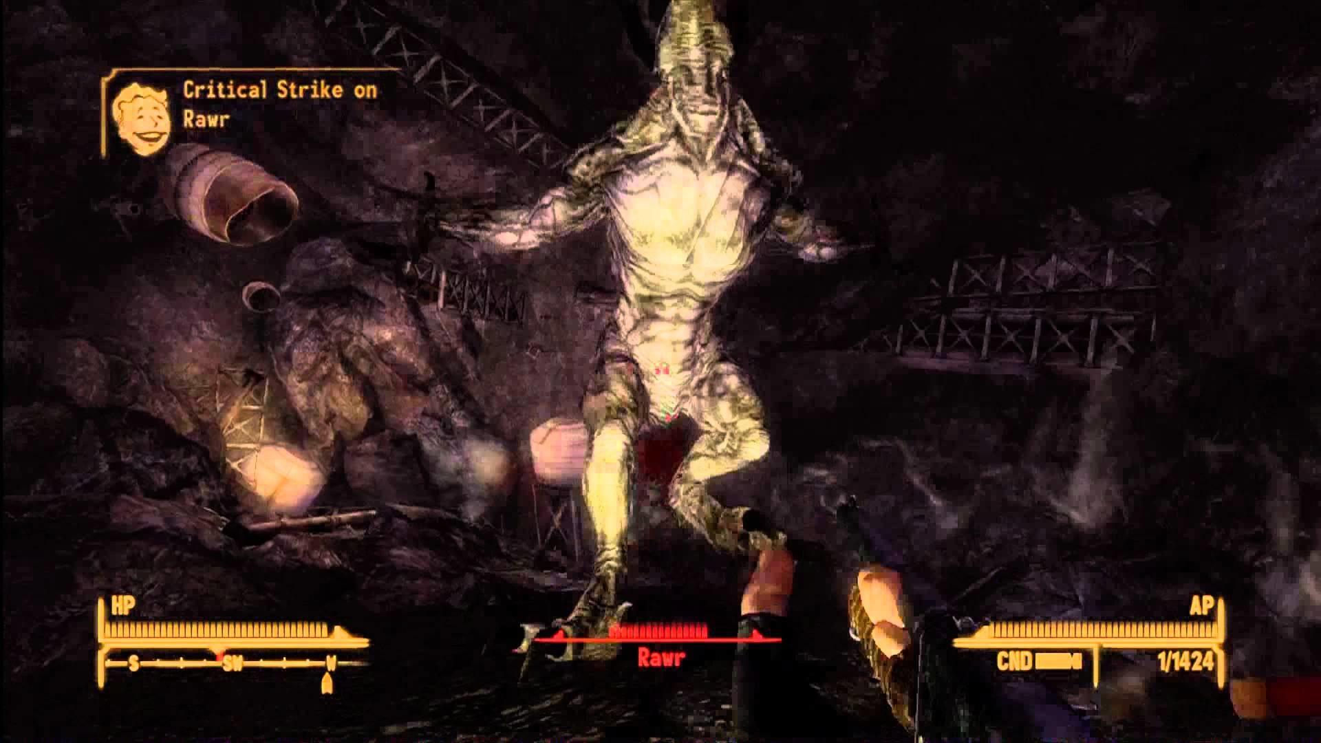 Rawr & Rawr's Talon Location (Spoiler) Fallout New Vegas Lonesome Road (HD  1080p) – YouTube