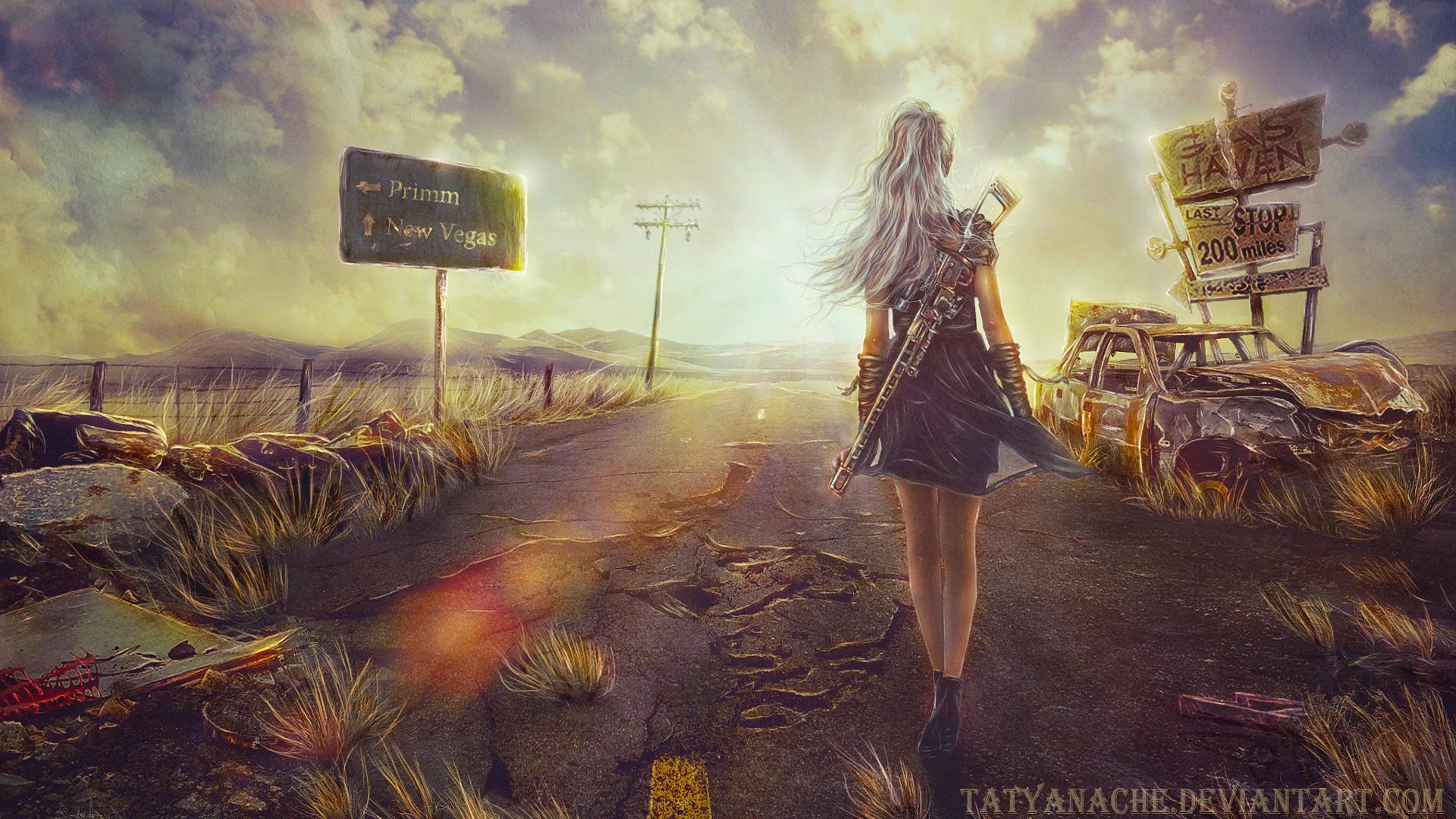… Fallout: New Vegas – Fanart – Background …