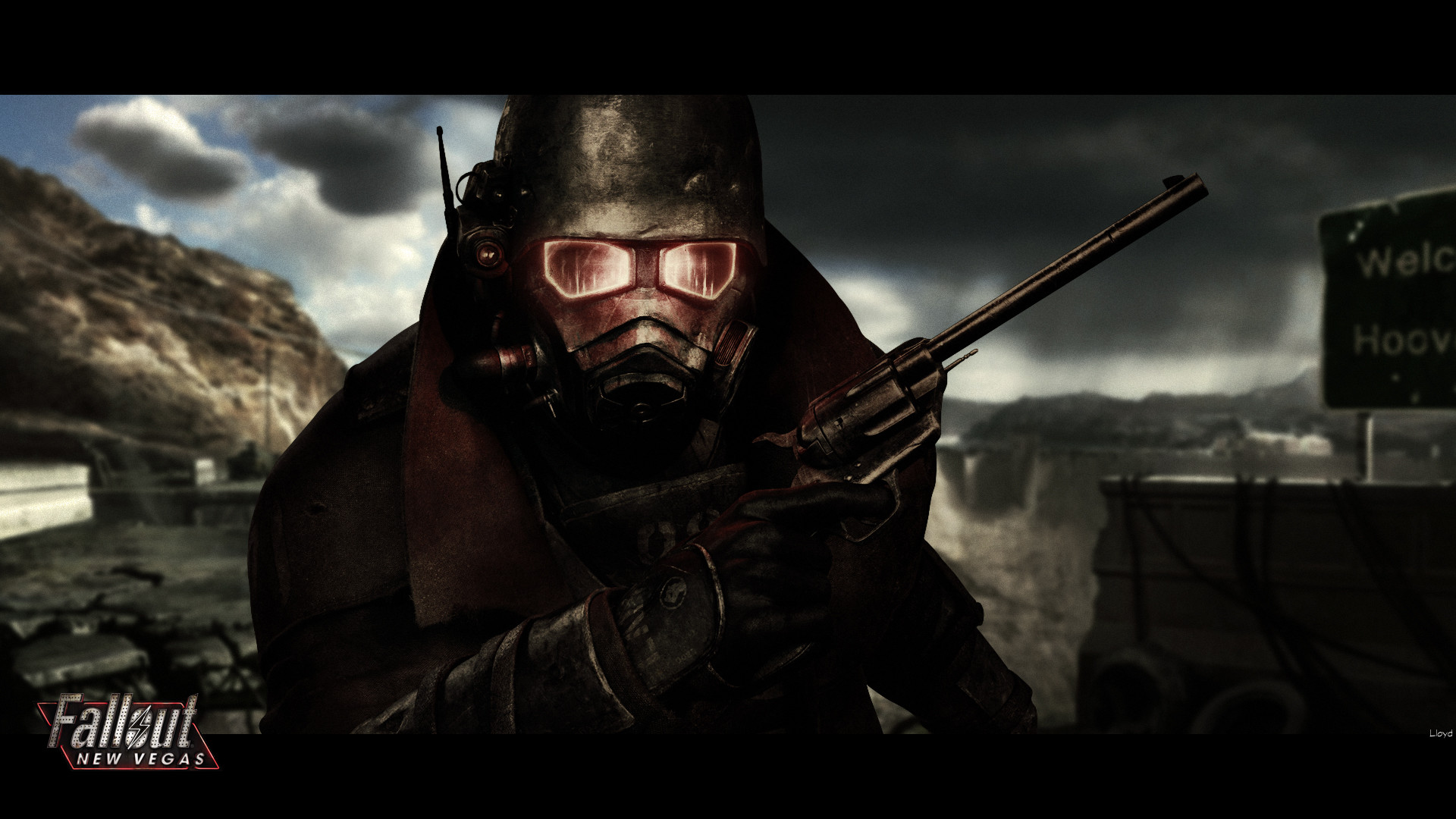 Fallout New Vegas Wallpaper by igotgame1075 Fallout New Vegas Wallpaper by  igotgame1075