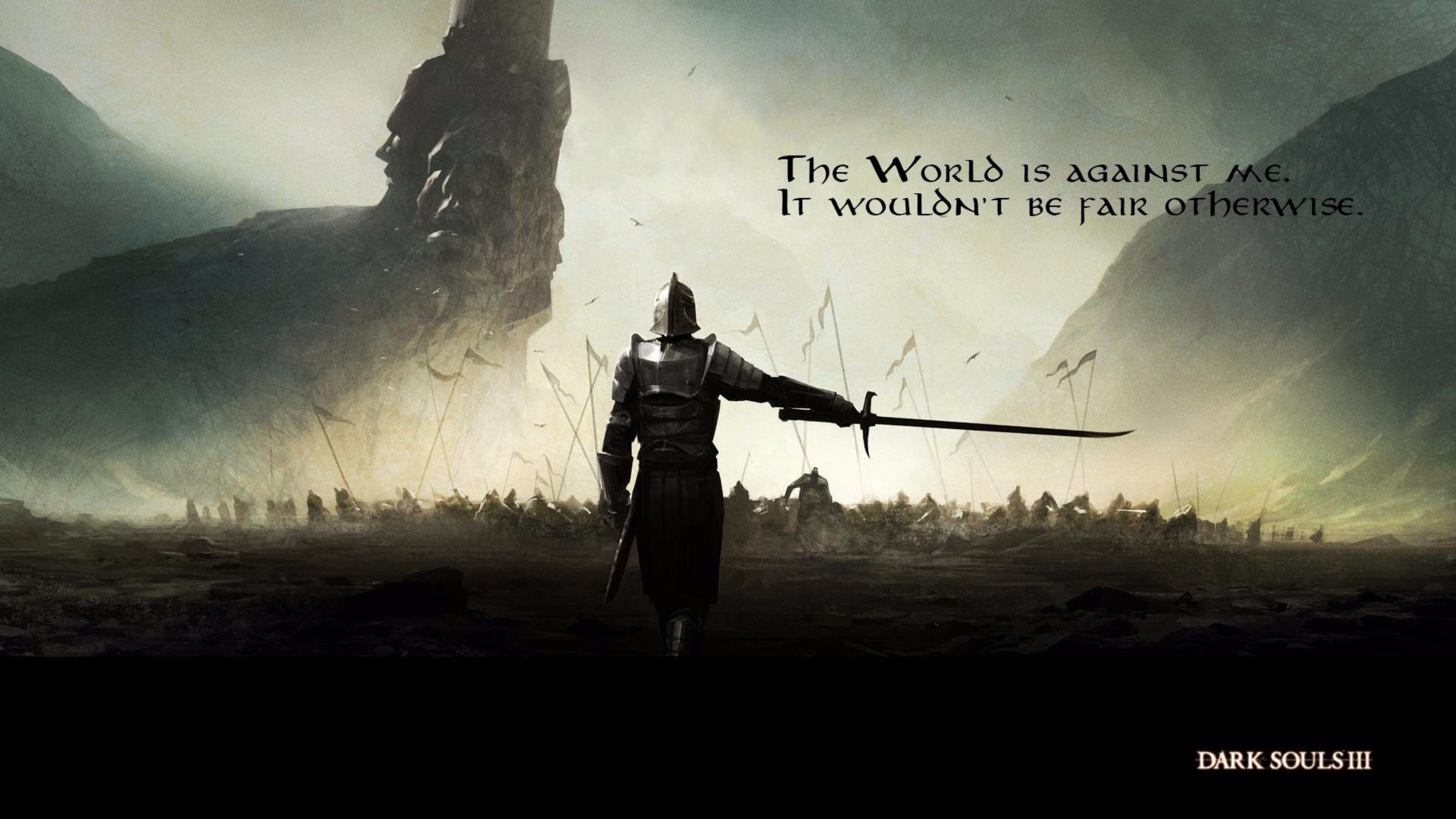 Quotes 2016 Dark Souls 3 4K Wallpapers   Free 4K Wallpaper