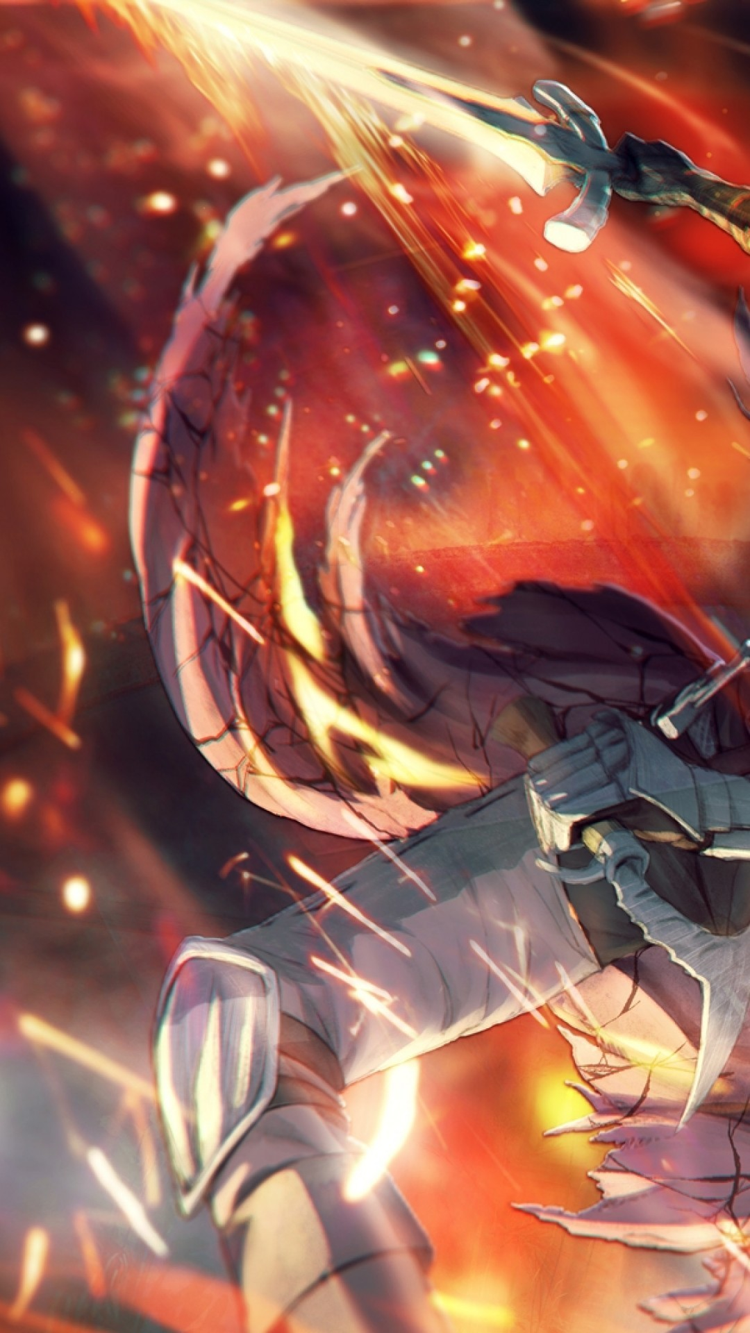 Dark Souls 3 Abyss Watchers Sword Flame