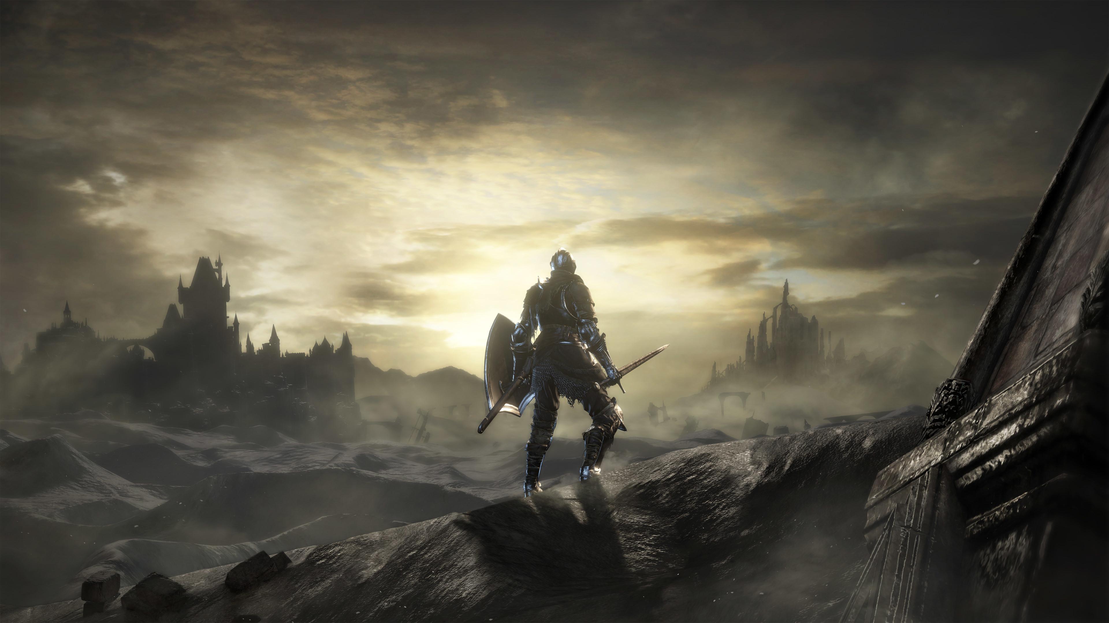 Dark Souls III, The Ringed City, DLC, 4K, 2017