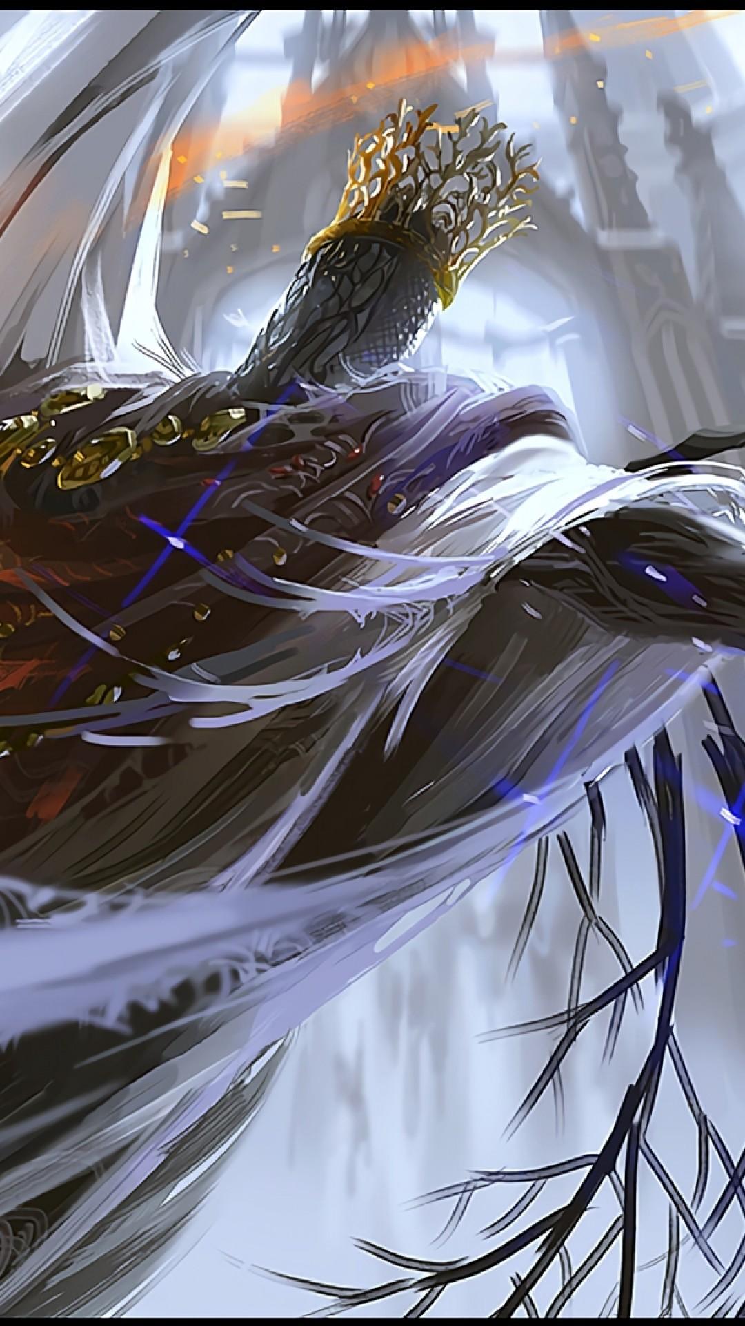 Dark Souls 3, Pontiff Sulyvahn, Twin Swords, Boss, Fire, Battle,