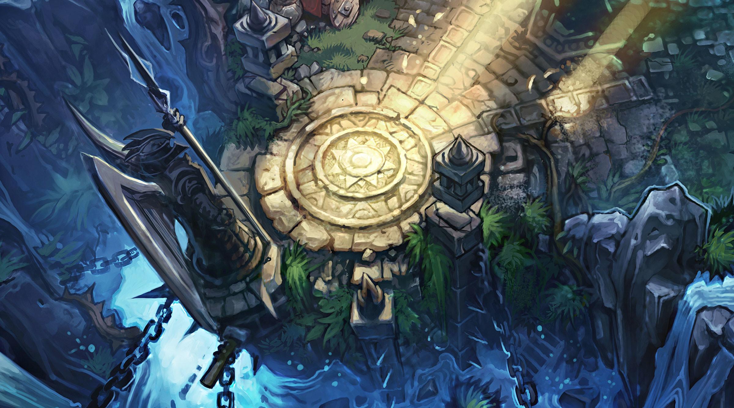 Summoners Rift Blue Base Concept Art (8) League of Legends Artwork Wallpaper  lol