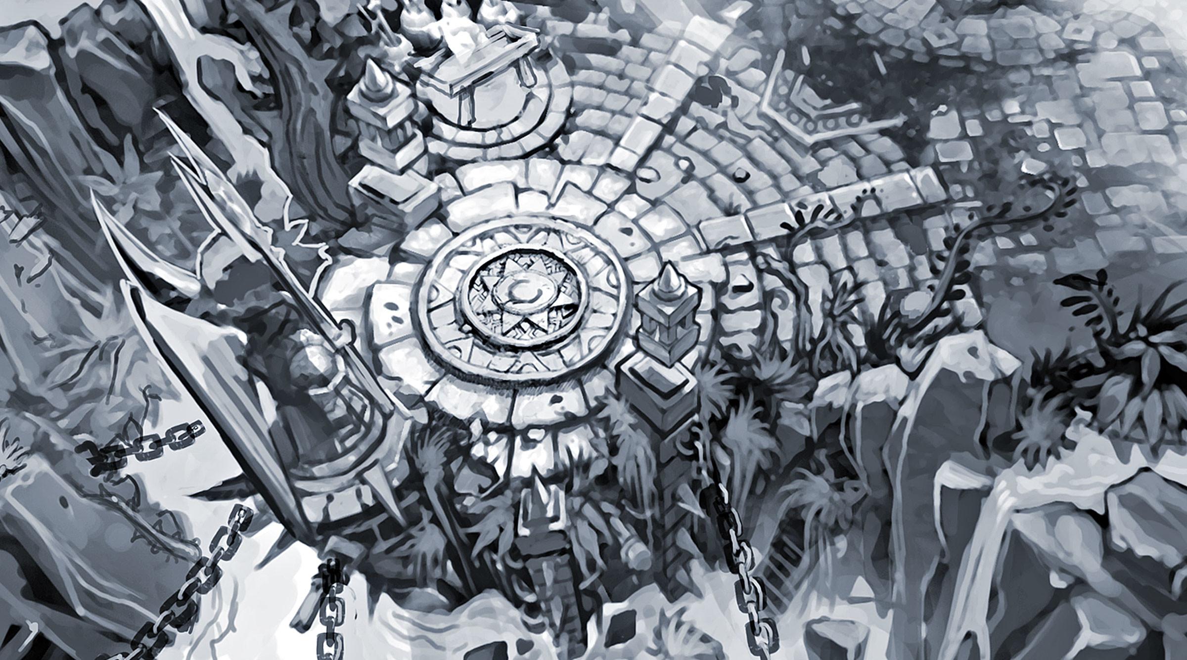 Summoners Rift Blue Base Concept Art (7) League of Legends Artwork Wallpaper  lol