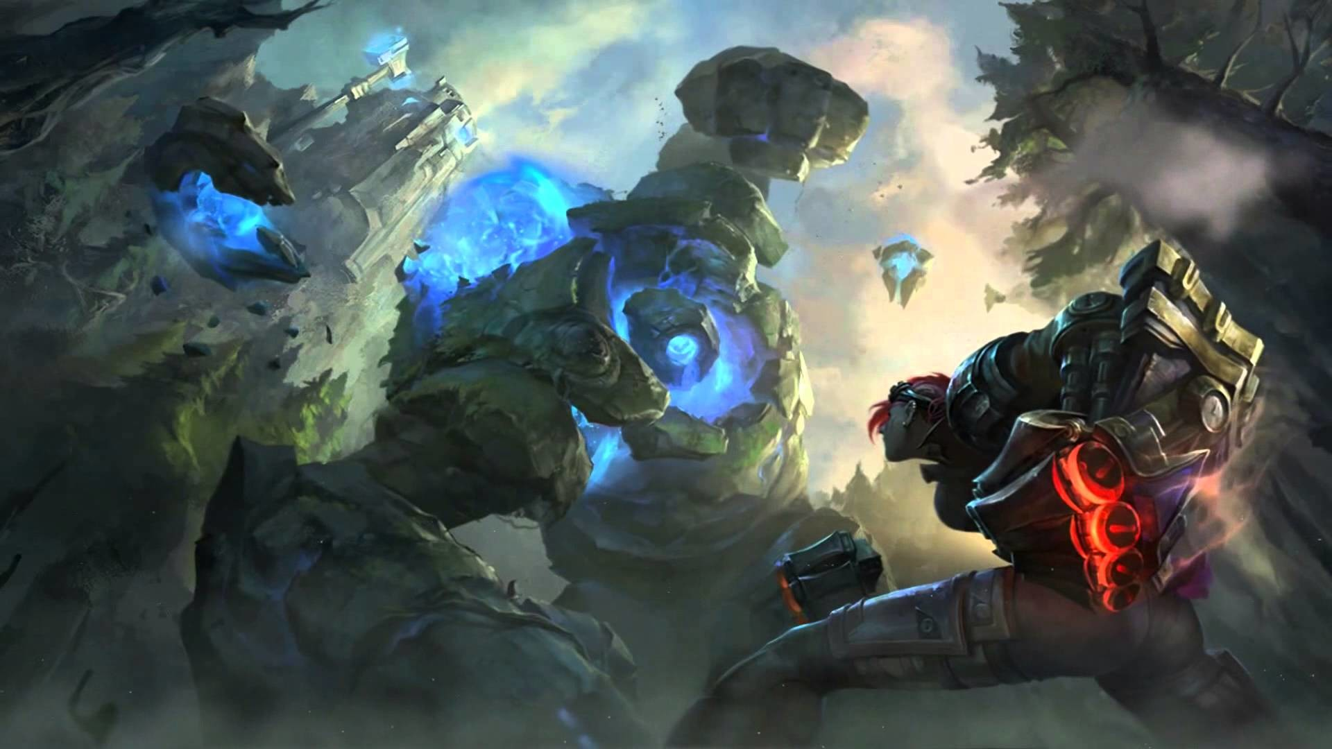 New Summoner's Rift Login Screen with Music – League of Legends – YouTube