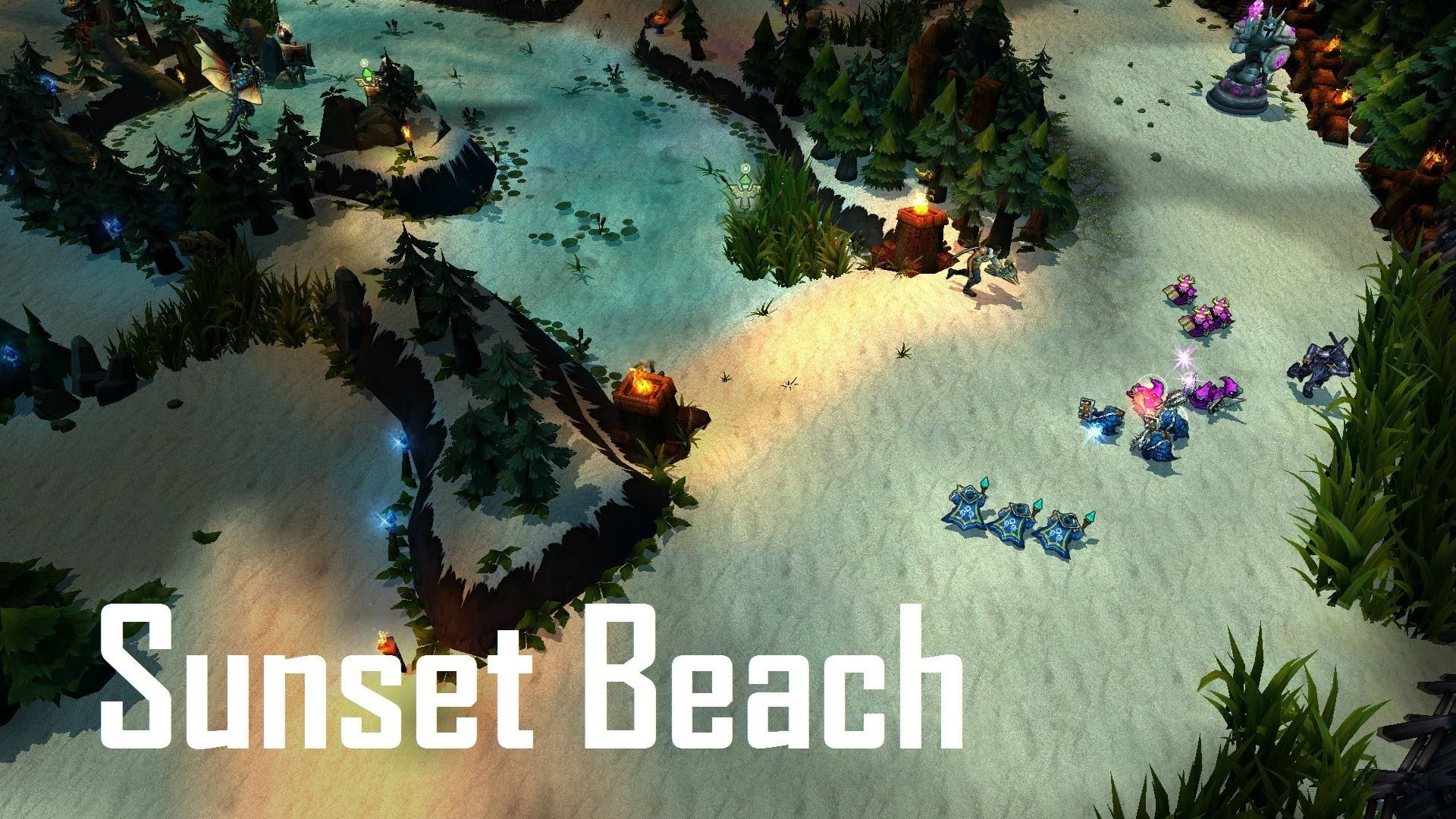 Sunset Beach Summoner's Rift