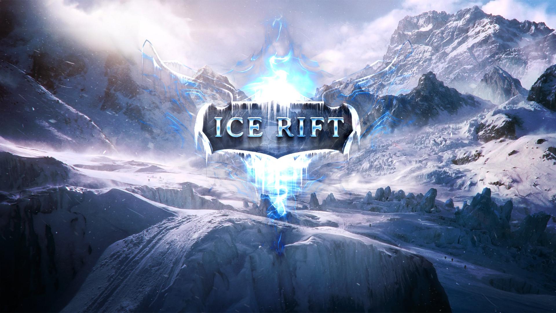 Ice Rift logo wallpaper by Dexistor371 Ice Rift logo wallpaper by  Dexistor371