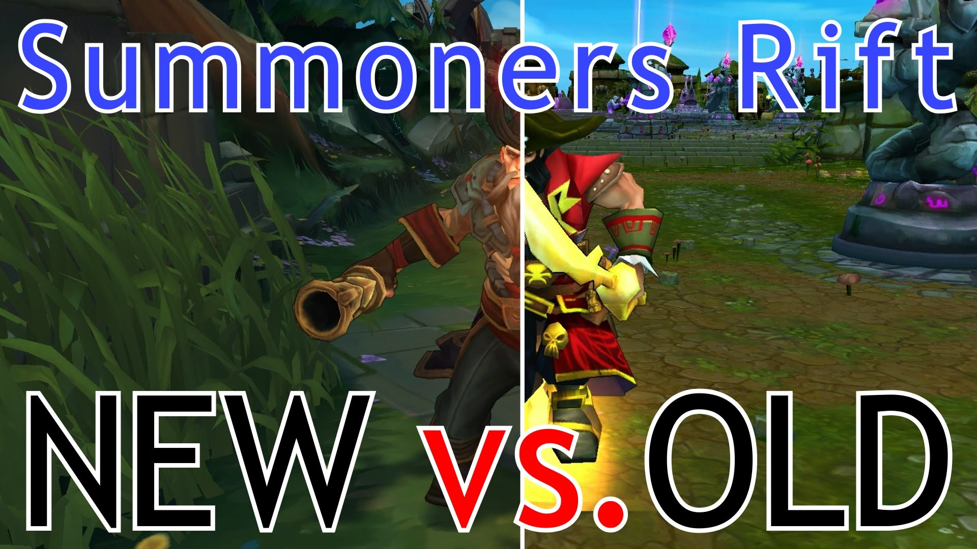 NEW Summoners Rift!   Cinematic Comparison – YouTube