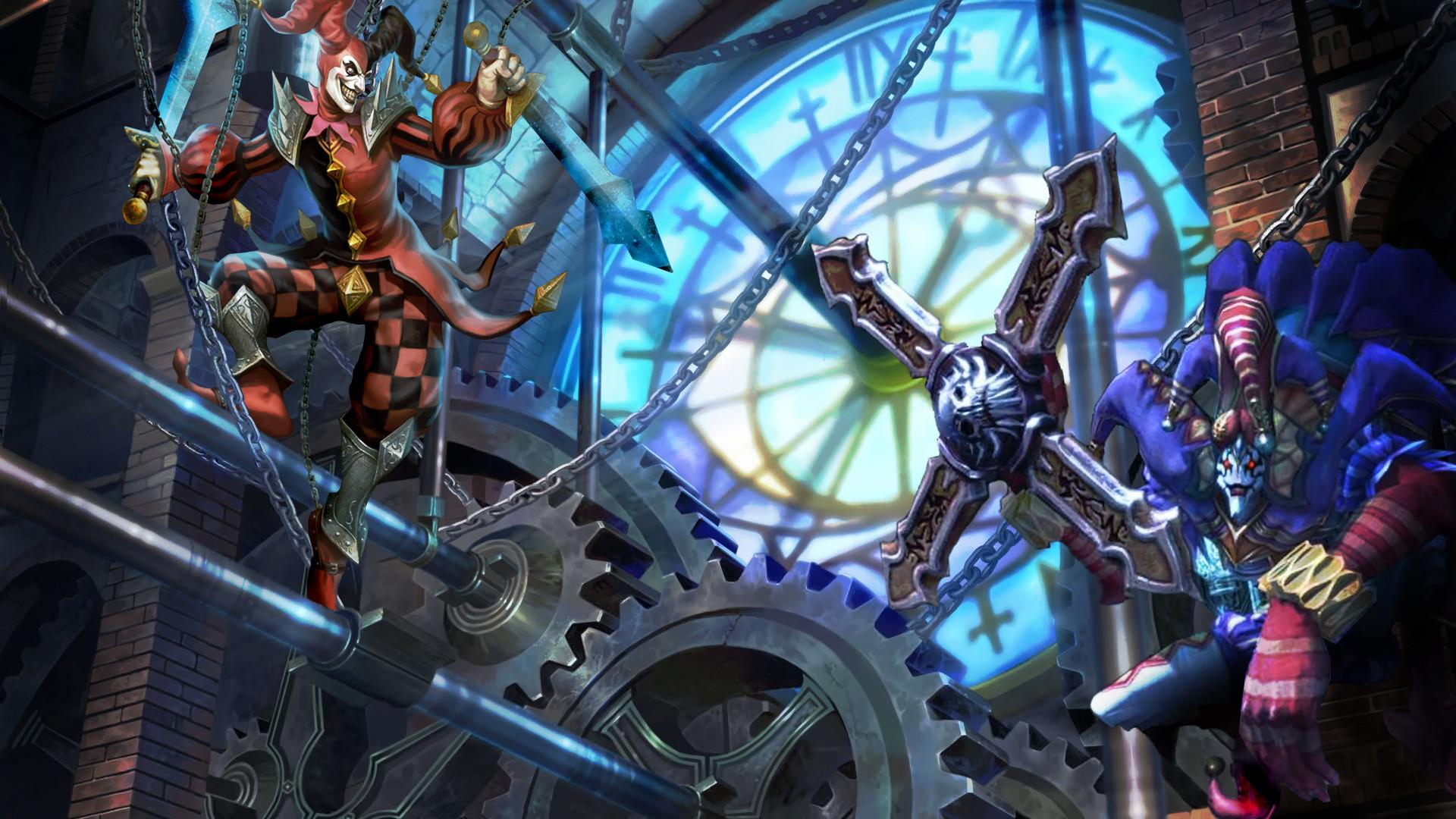 Shaco by Zeronoux HD Wallpaper Fan Art Artwork League of Legends lol
