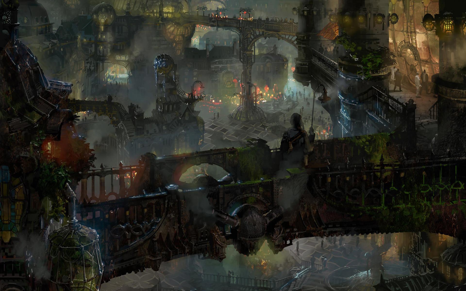 Zaun (1) League of Legends Artwork Wallpaper lol