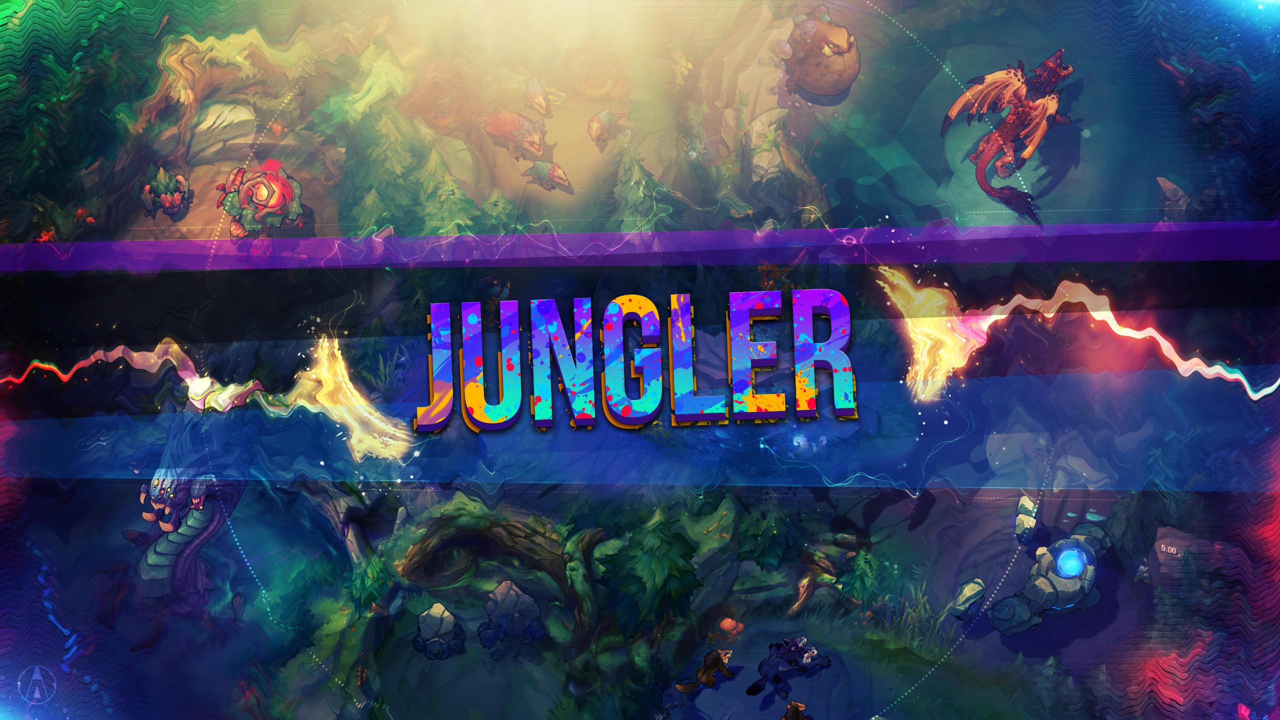 Jungle by Aynoe HD Wallpaper Fan Art Artwork League of Legends lol